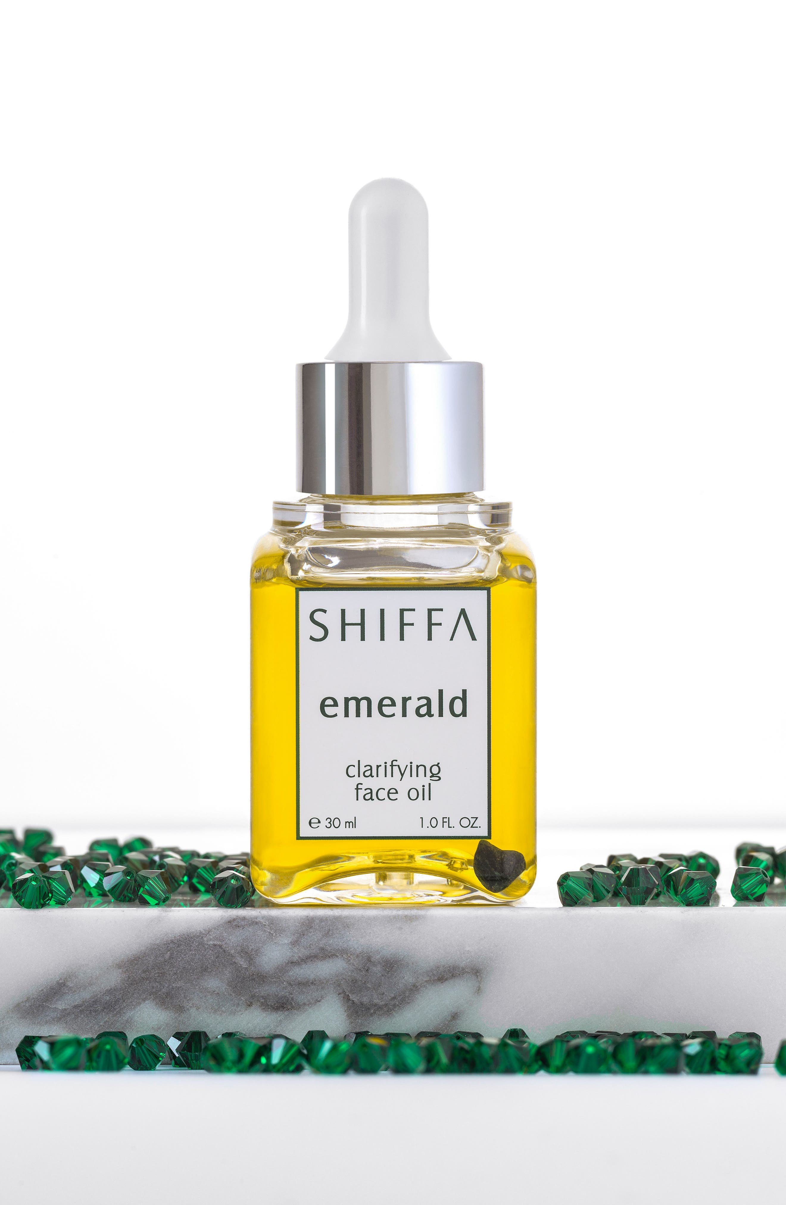Emerald Clarifying Face Oil,                             Alternate thumbnail 3, color,                             NO COLOR