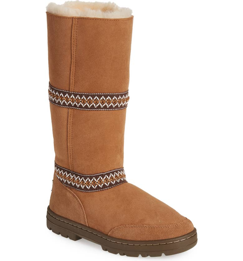 UGG Sundance Revival Genuine Shearling Boot