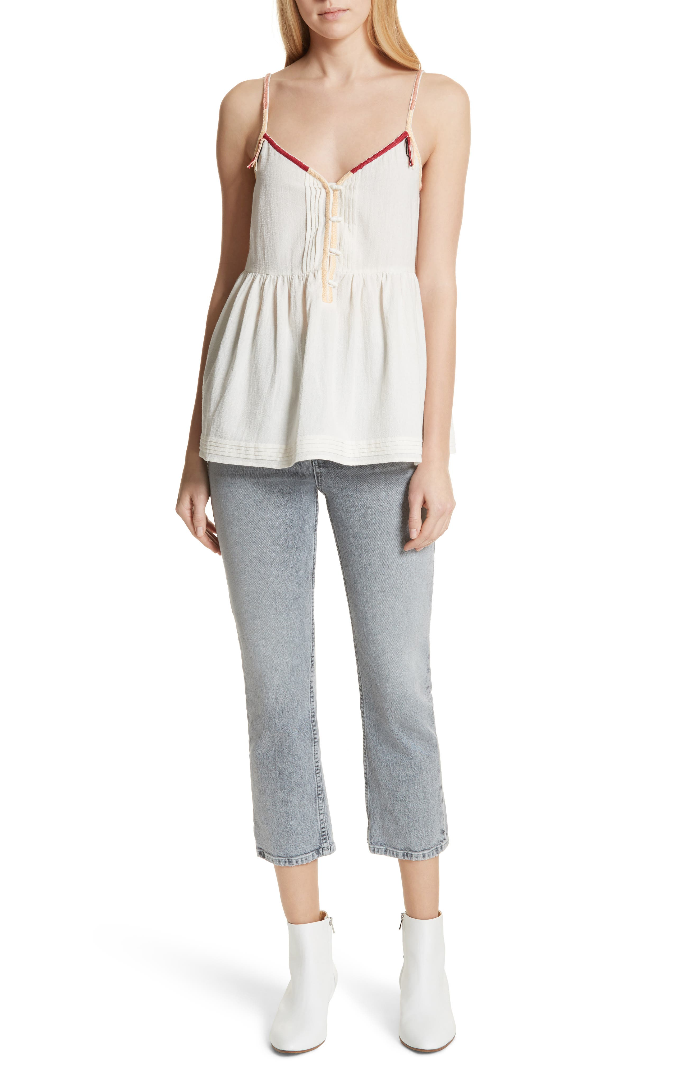The Adobe Cotton Camisole,                             Alternate thumbnail 7, color,                             900
