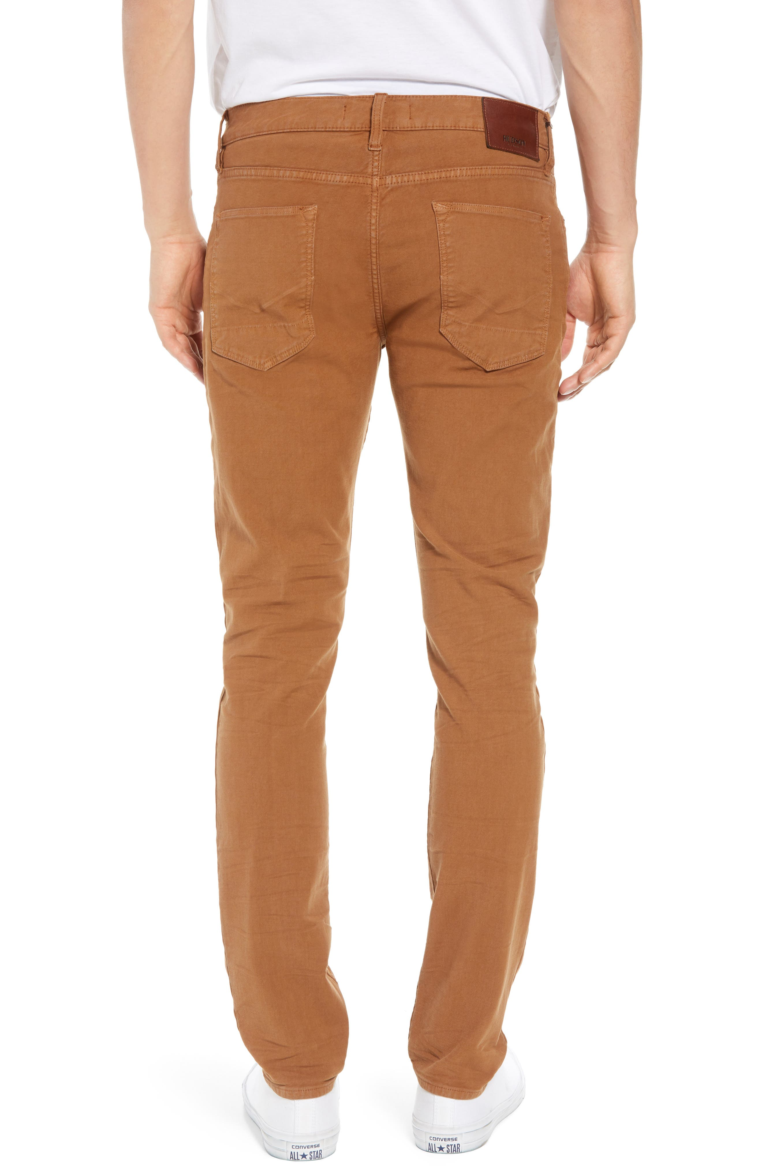 Axl Skinny Fit Jeans,                             Alternate thumbnail 2, color,                             SIENNA