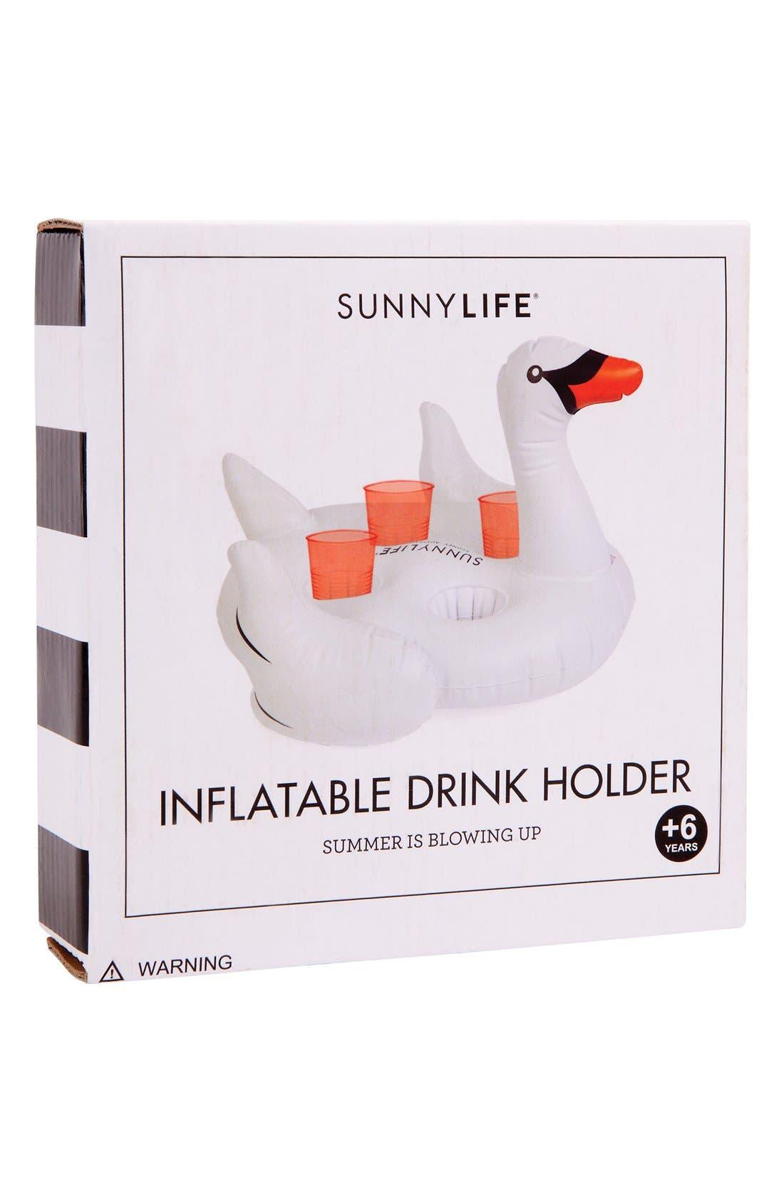 Inflatable Drink Holder Pool Float,                             Alternate thumbnail 3, color,                             100