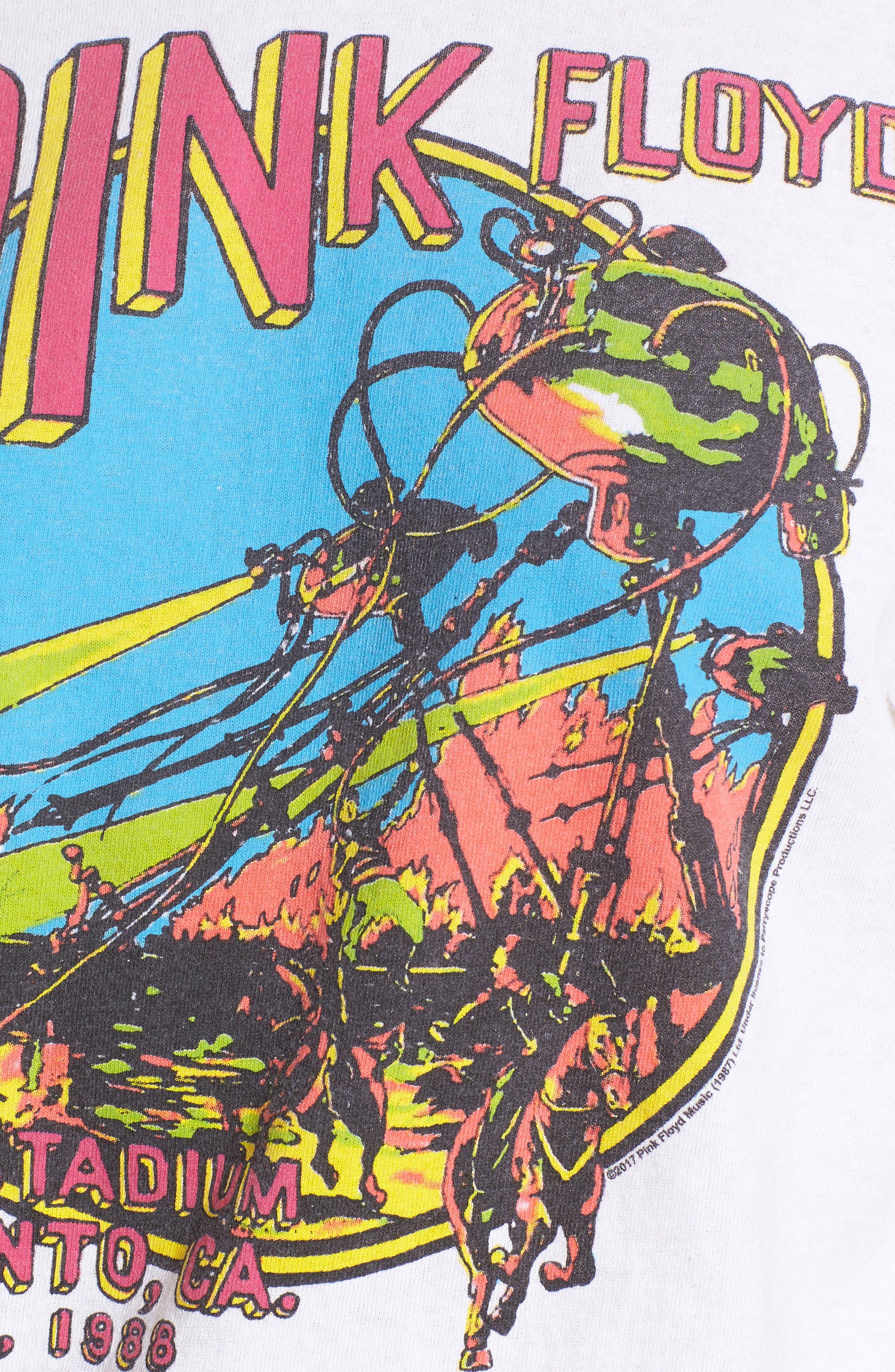 Pink Floyd Oversize Tee,                             Alternate thumbnail 5, color,                             100