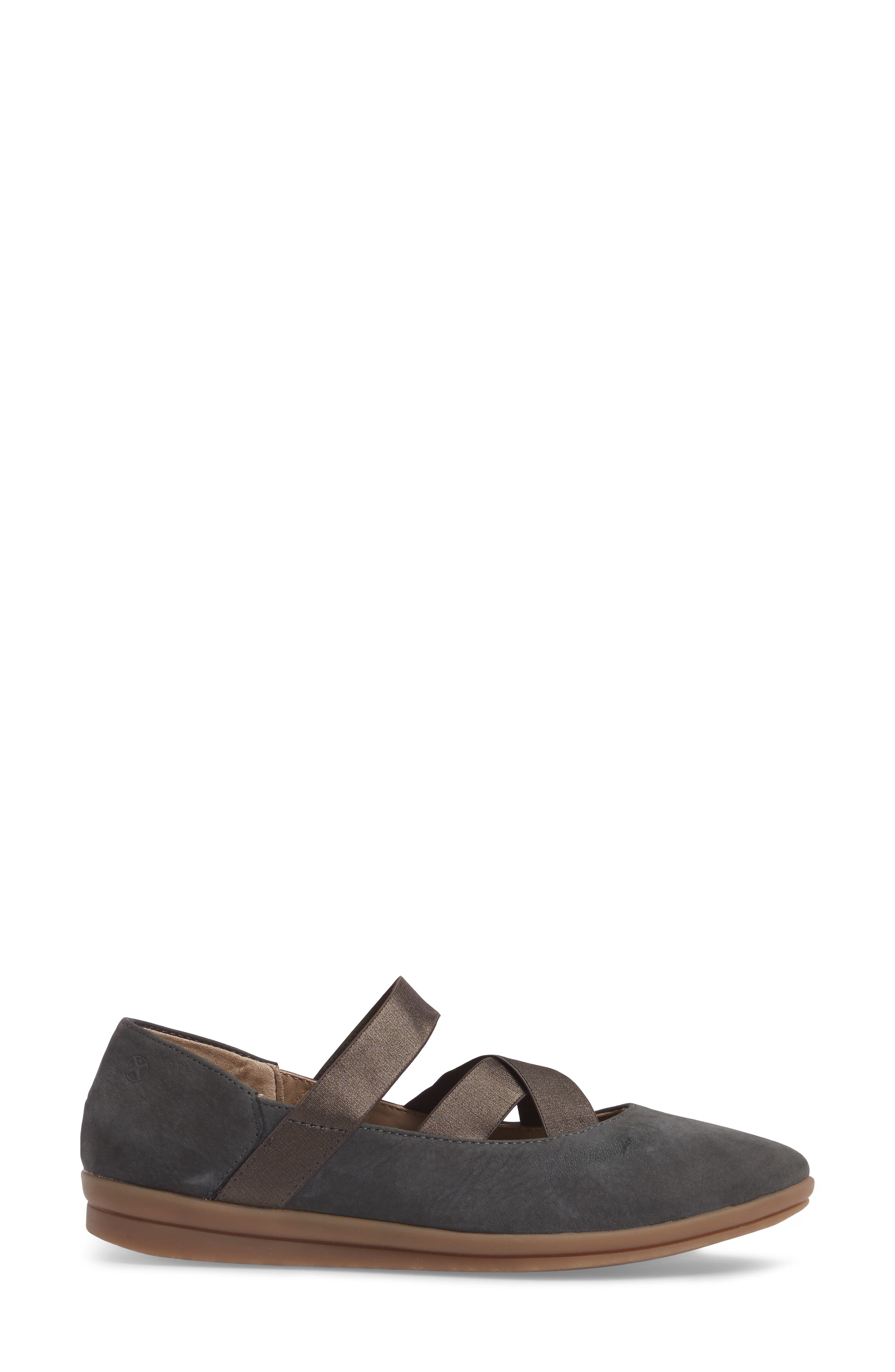 Meree Madrine Cross Strap Flat,                             Alternate thumbnail 14, color,