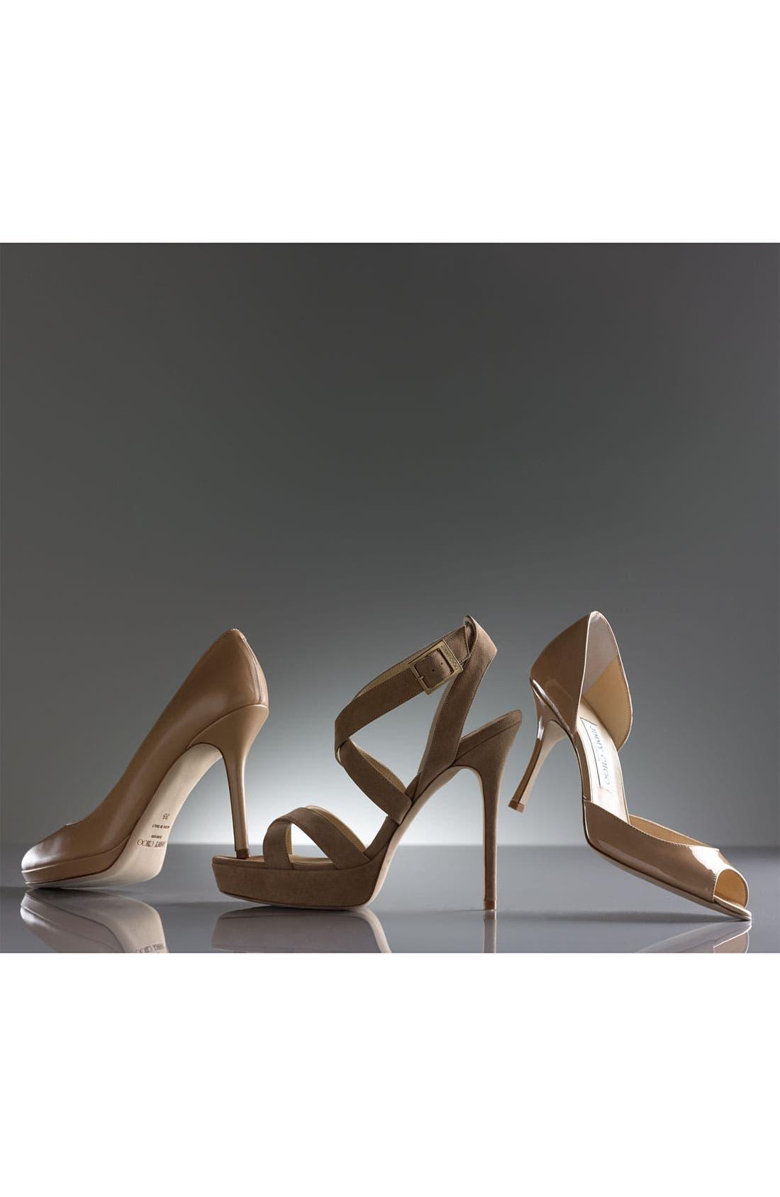 'Vamp' Sandal, Main, color, 001