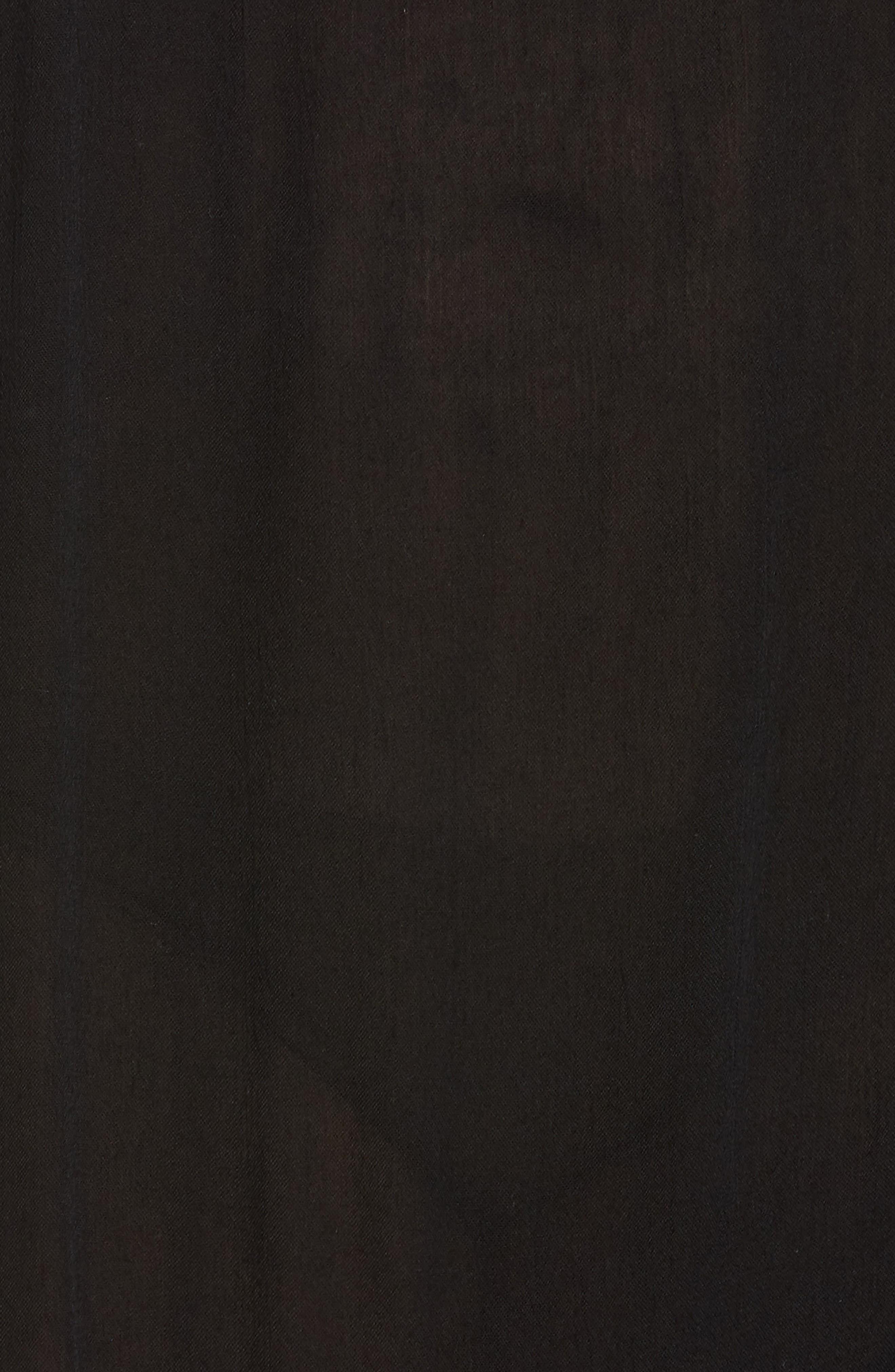 Gavin One-Shoulder Cover-Up Dress,                             Alternate thumbnail 5, color,                             002