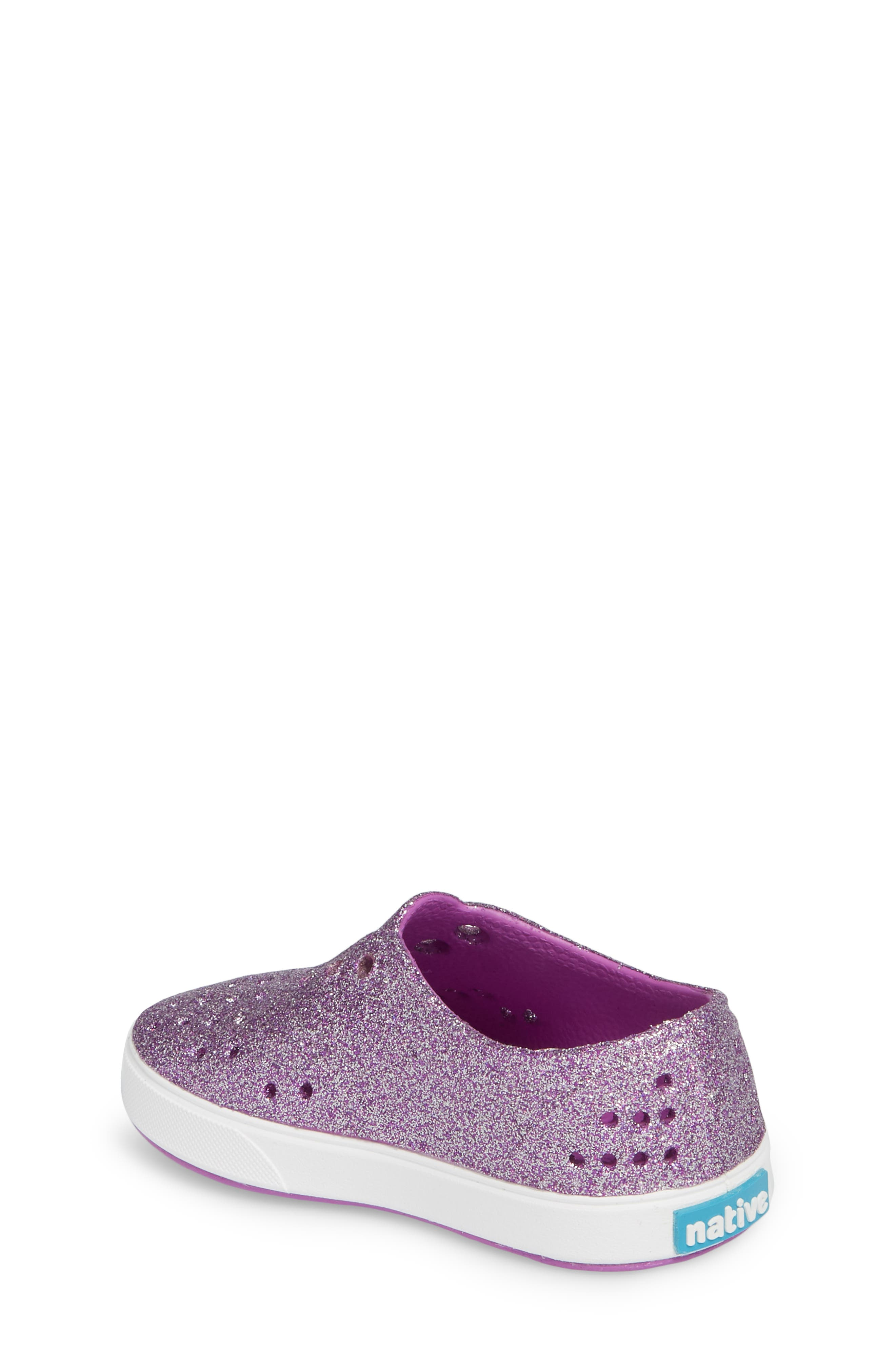 Miller Sparkly Perforated Slip-On,                             Alternate thumbnail 8, color,