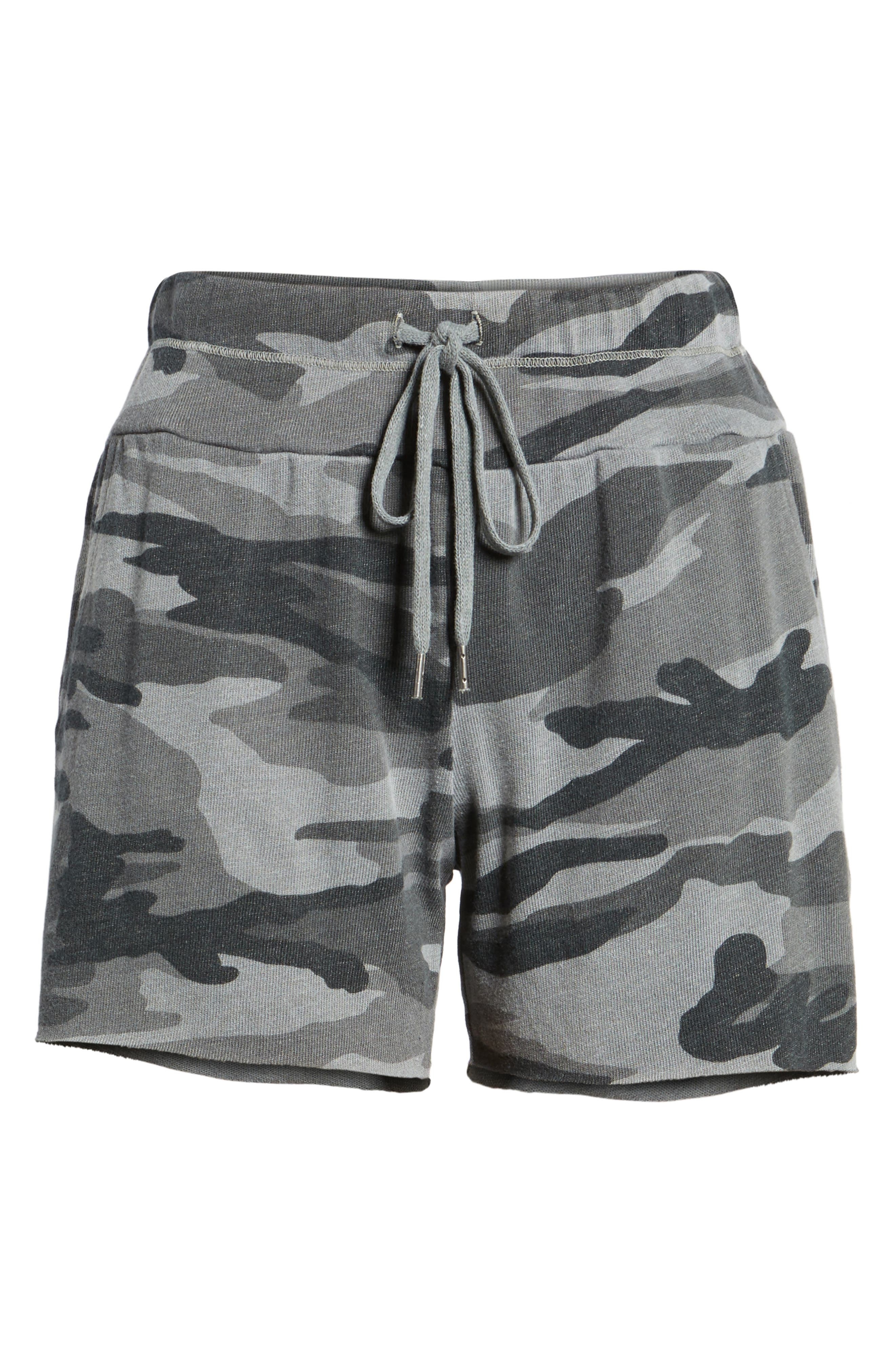 Camo Shorts,                             Alternate thumbnail 6, color,                             301