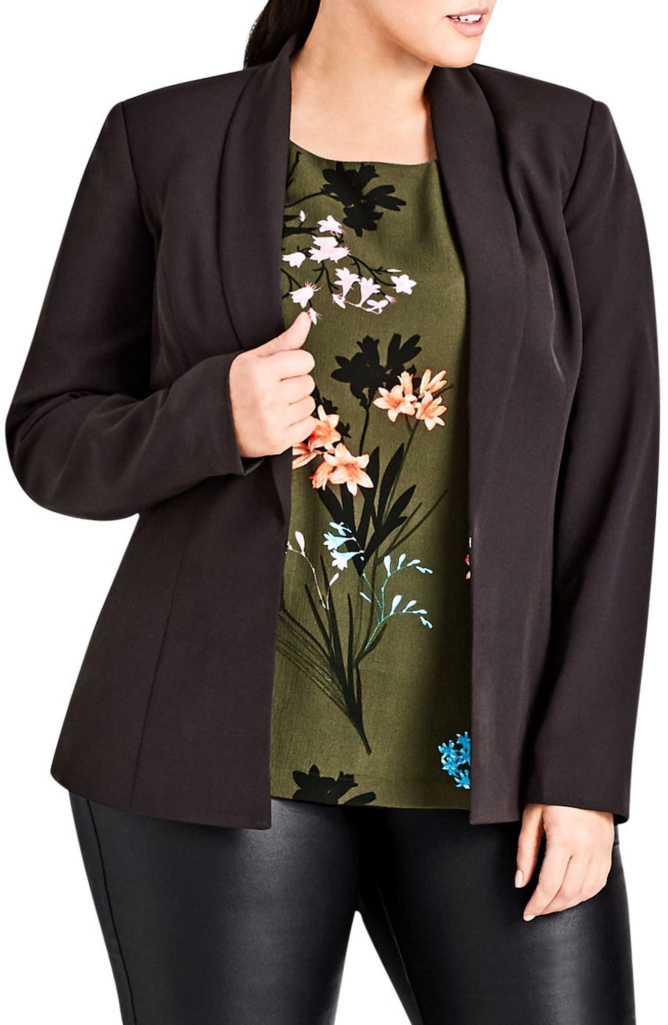 Lace-Up Jacket,                         Main,                         color, 001