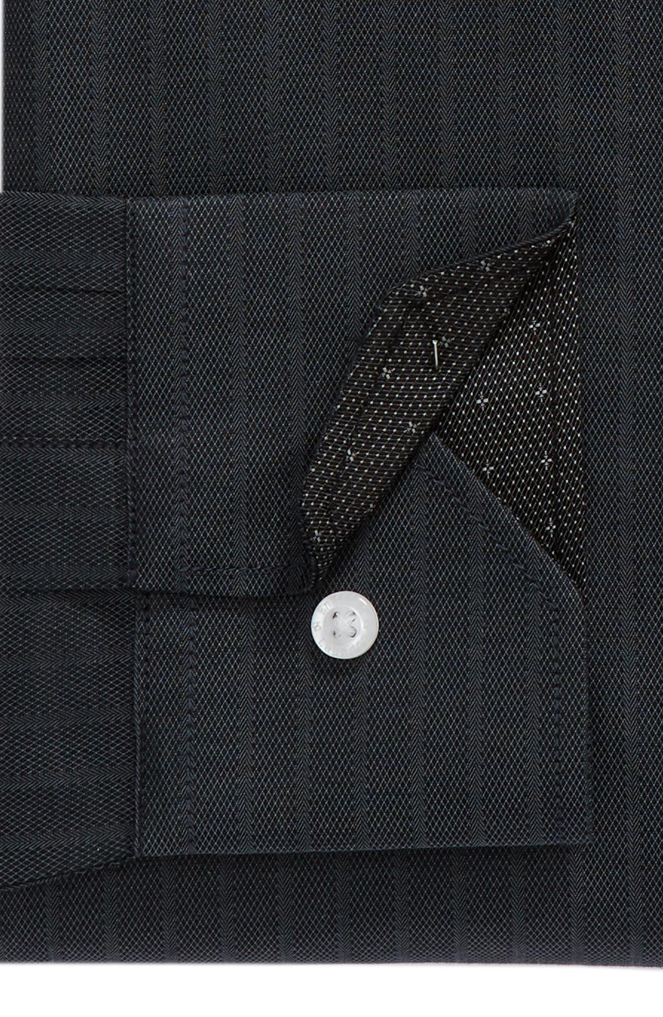 Regular Fit Solid Dress Shirt,                             Alternate thumbnail 6, color,                             GREY