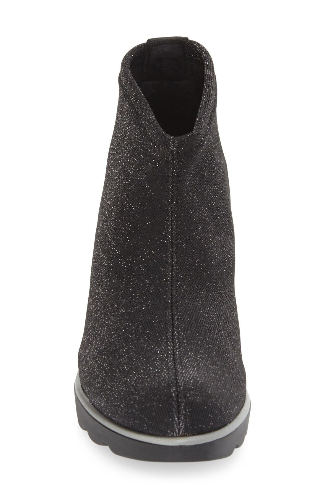 'Baltic' Wedge Bootie,                             Alternate thumbnail 3, color,                             001