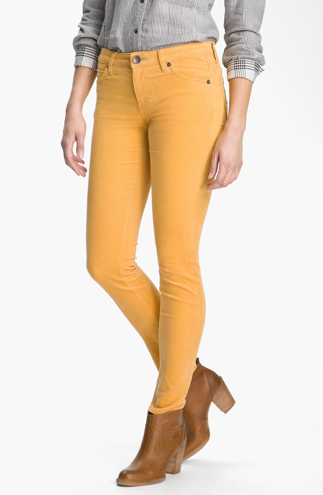 'Diana' Stretch Corduroy Skinny Pants,                             Main thumbnail 47, color,