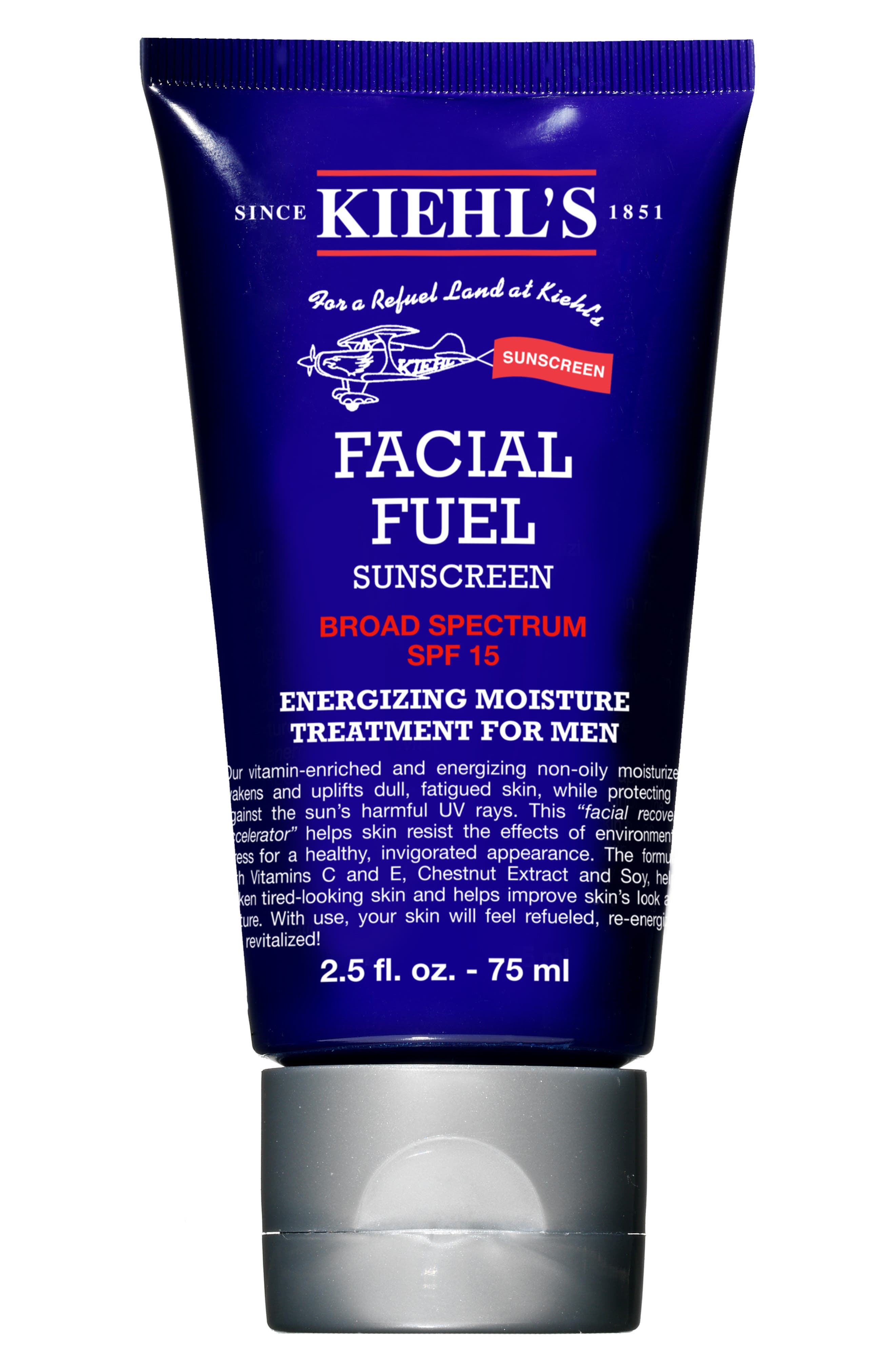 Facial Fuel Energizing Moisture Treatment for Men SPF 15,                             Alternate thumbnail 3, color,                             NONE