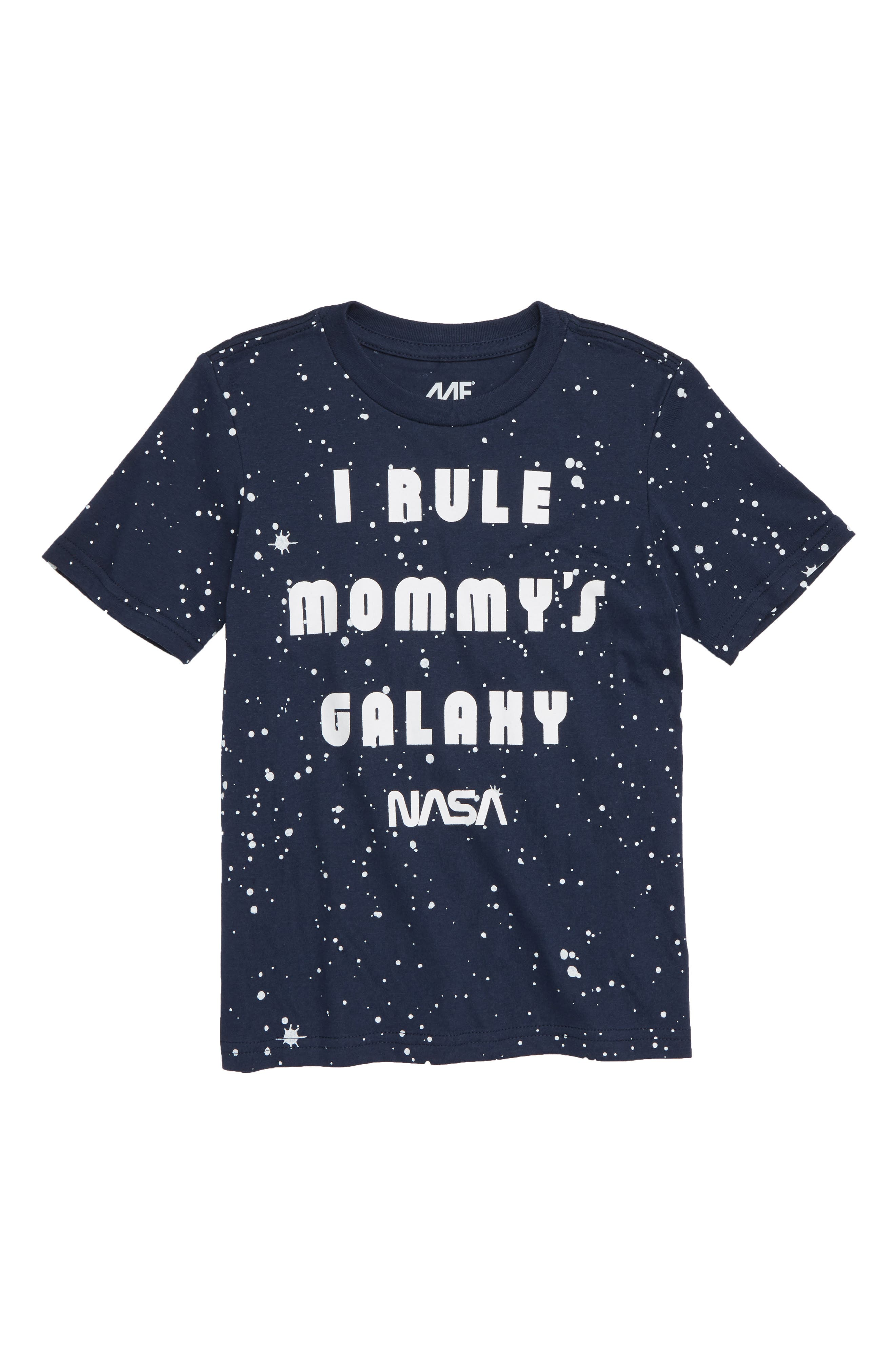 I Rule Mommy's Galaxy T-Shirt,                         Main,                         color, 410