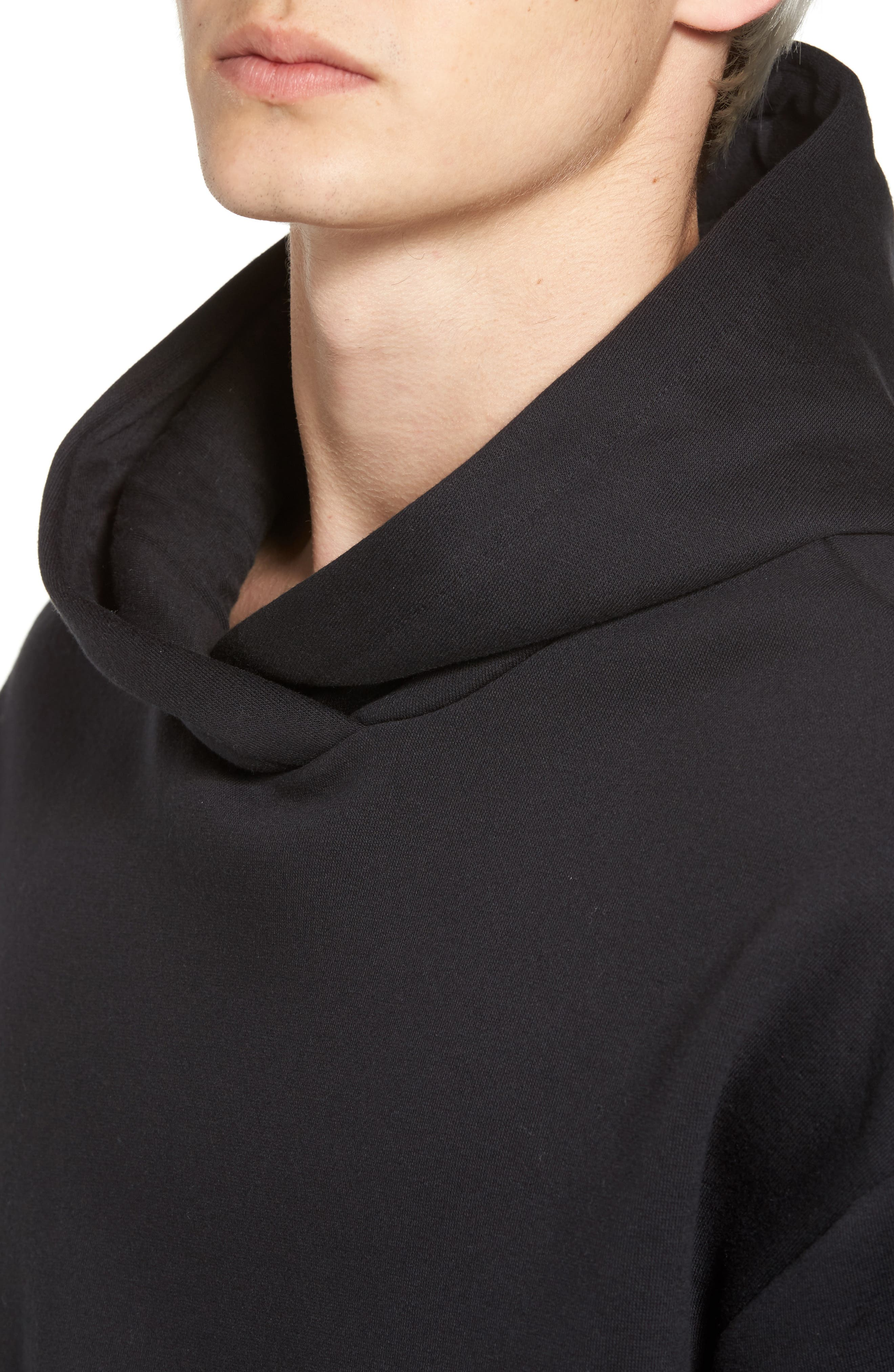 Surf Check Icon Hoodie,                             Alternate thumbnail 4, color,                             010