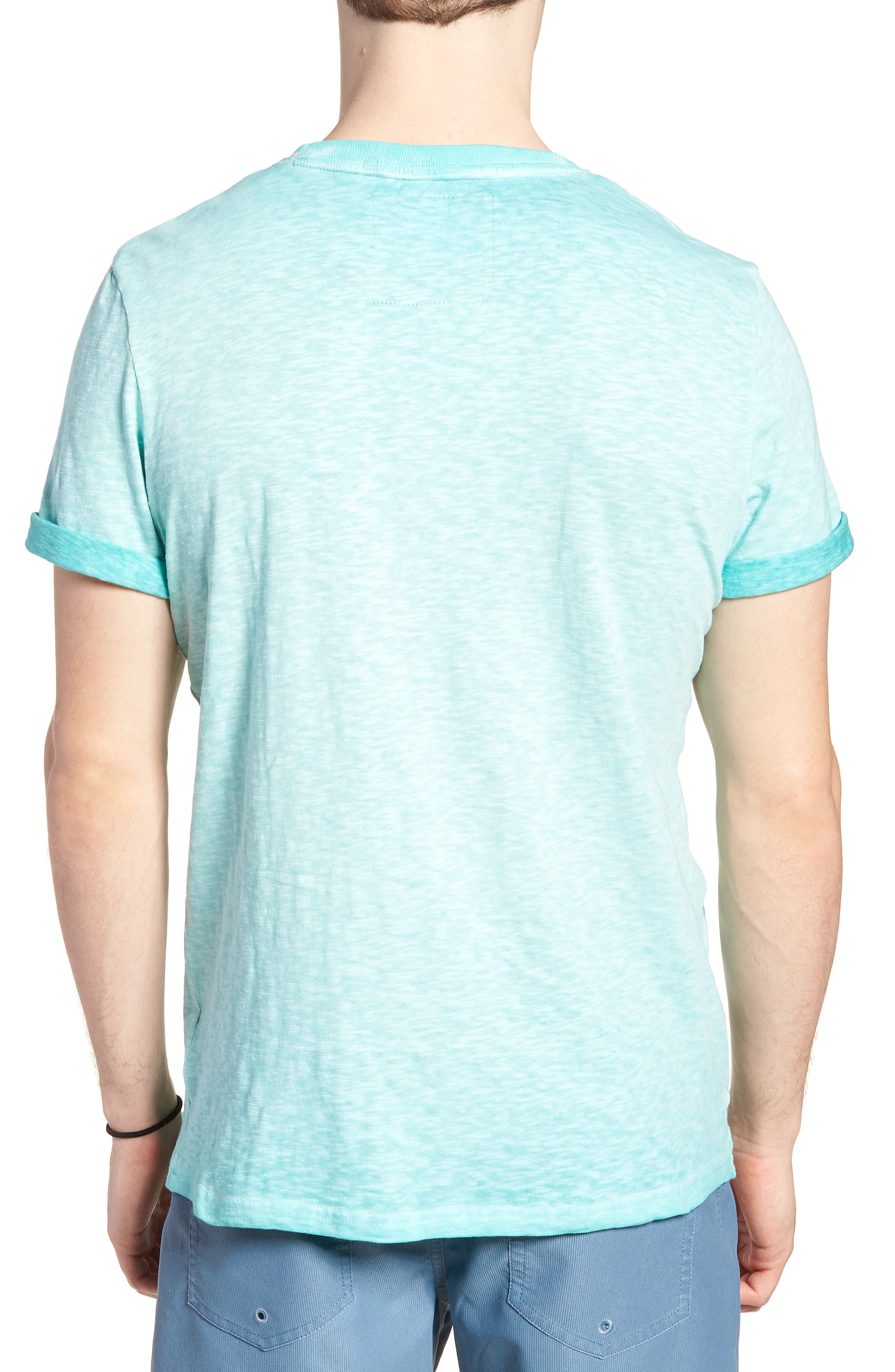 Orange Label Low Roller T-Shirt,                             Alternate thumbnail 8, color,