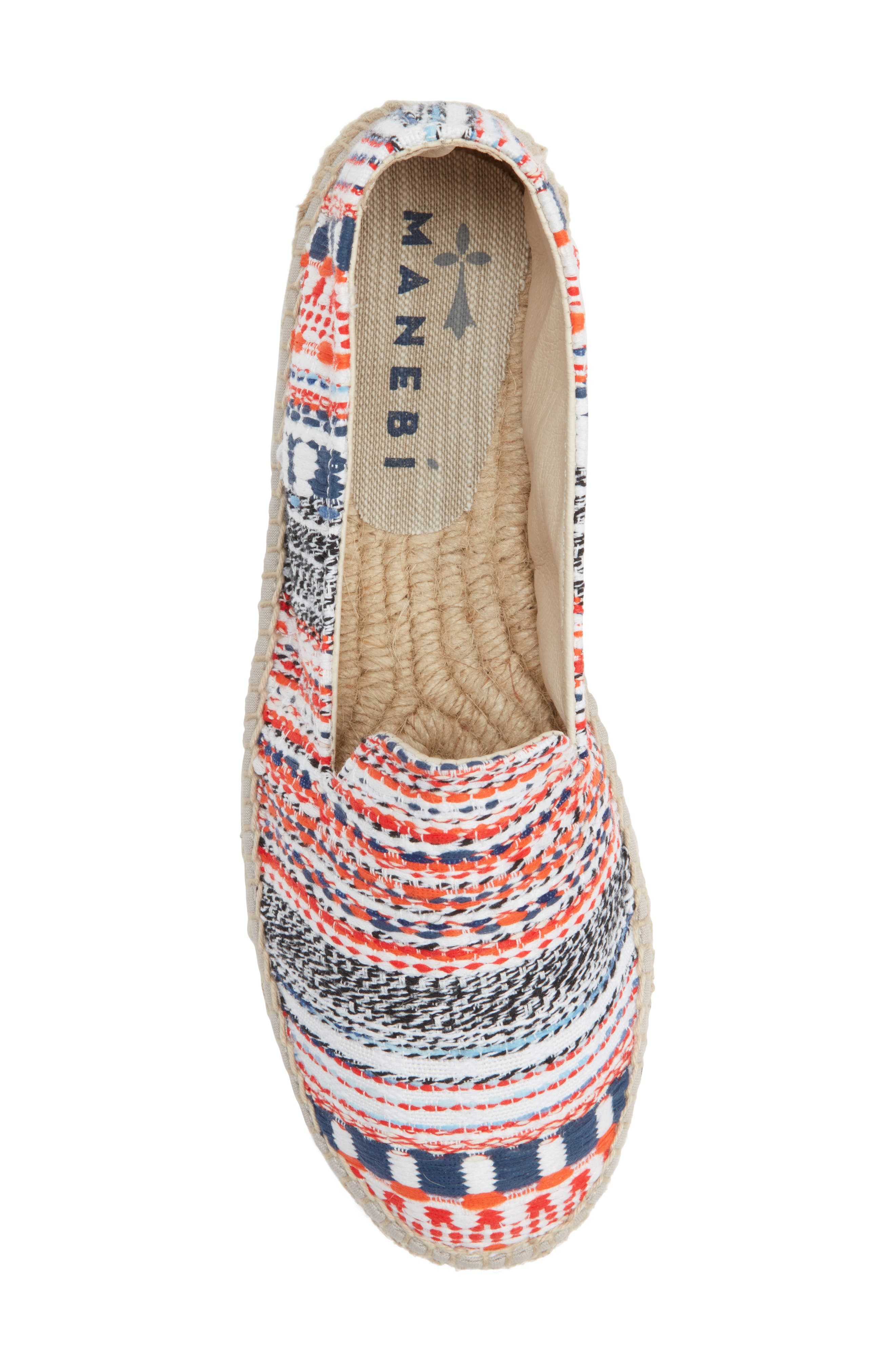 MANEBÍ Yucatan Platform Espadrille Slip-On,                             Alternate thumbnail 5, color,                             420