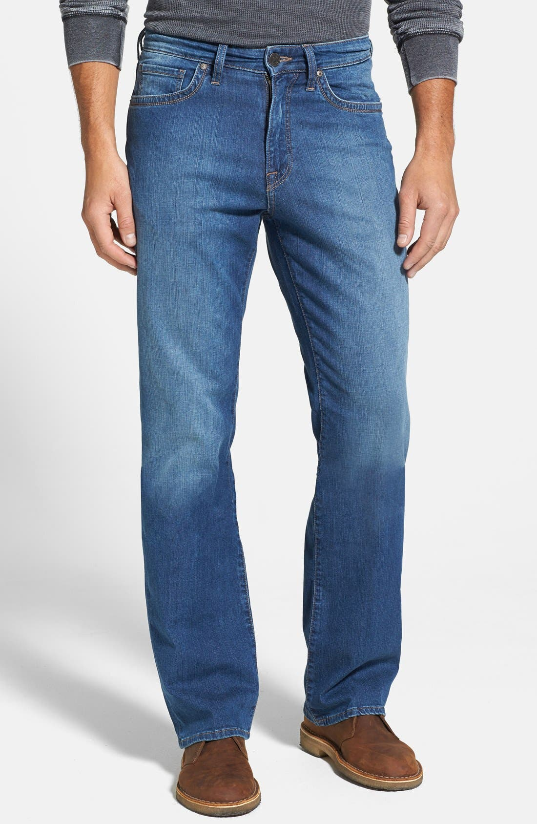 'Charisma' Classic Relaxed Fit Jeans,                         Main,                         color, MID CASHMERE