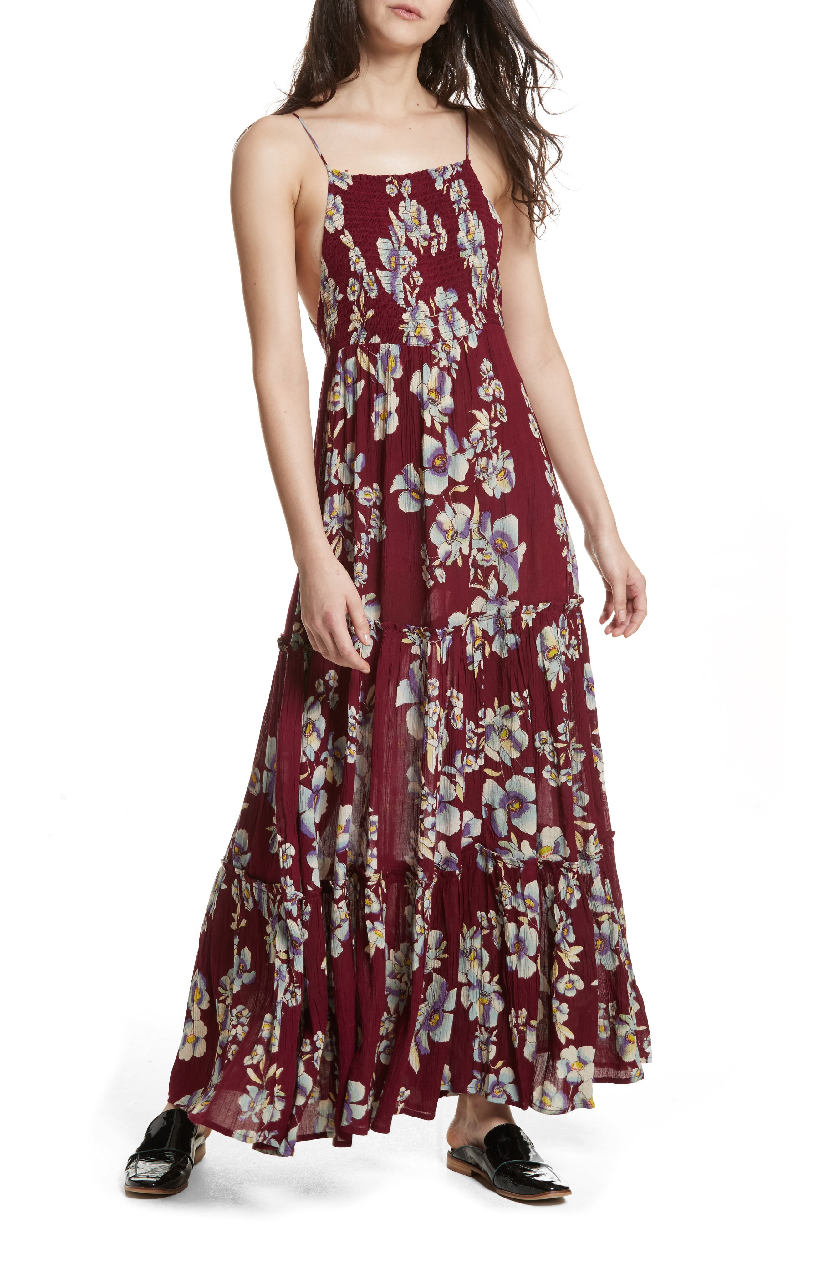 Garden Party Maxi Dress,                             Main thumbnail 3, color,