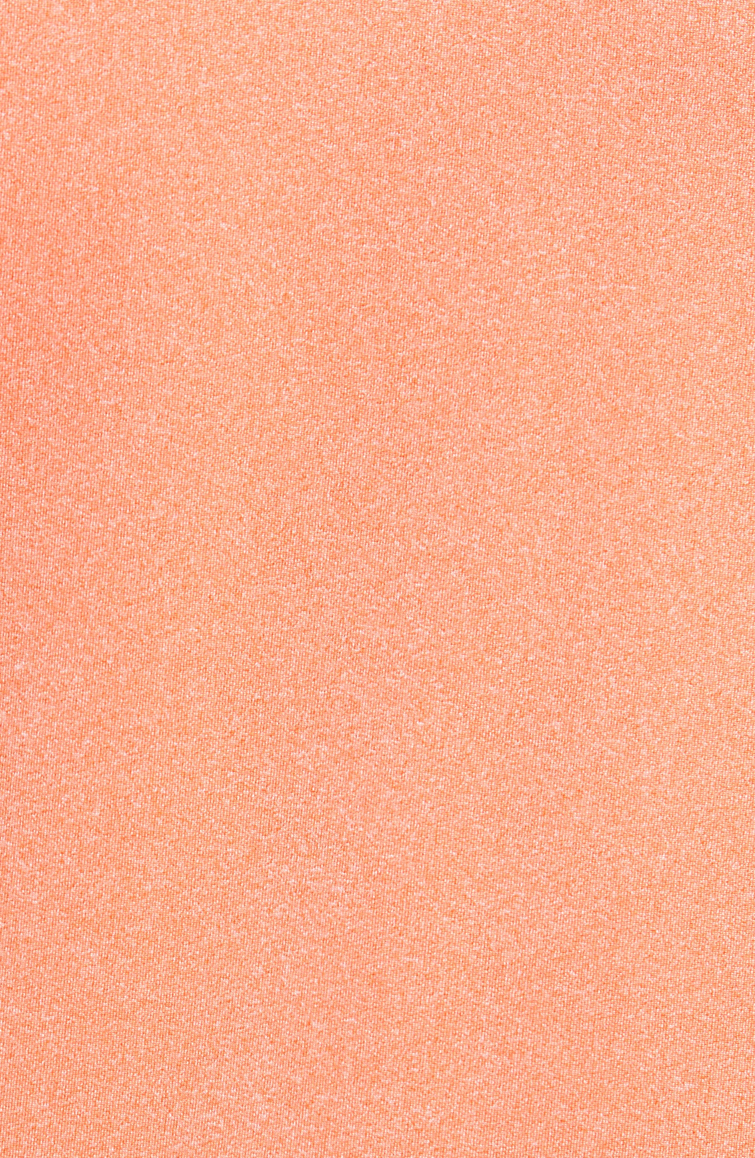 Endurance Cincinnati Bengals Regular Fit Pullover,                             Alternate thumbnail 5, color,                             COLLEGE ORANGE HEATHER