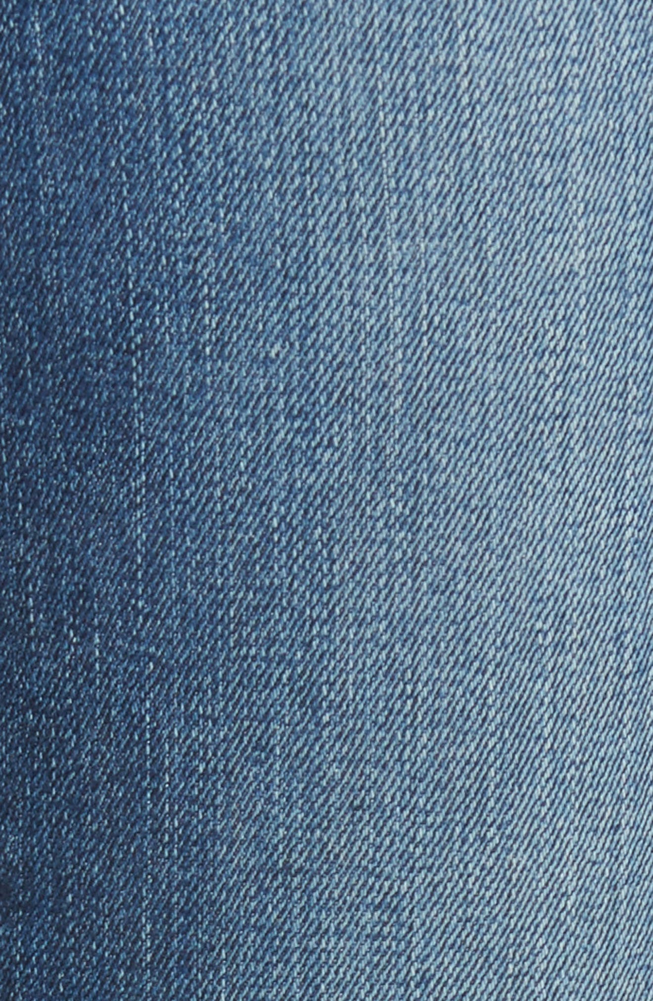Vintage Slim Ankle Jeans,                             Alternate thumbnail 5, color,