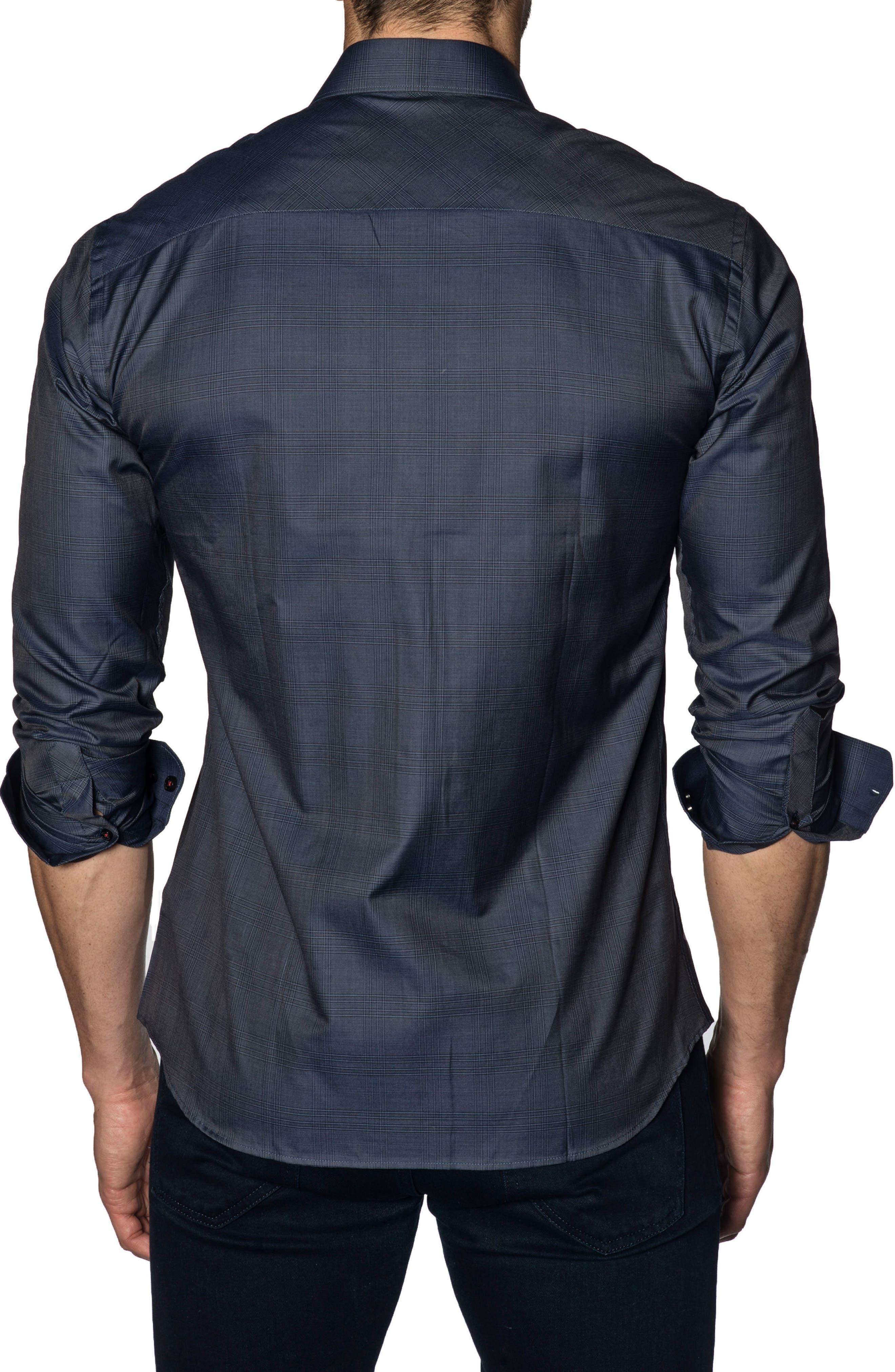 Trim Fit Sport Shirt,                             Alternate thumbnail 2, color,                             415