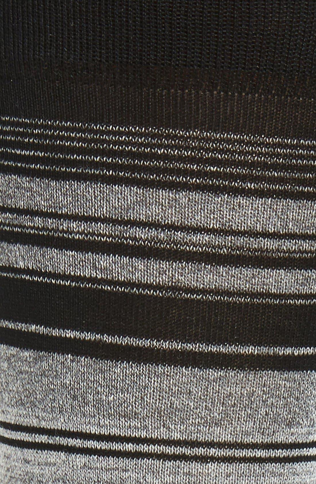 Mercerized Cotton Blend Socks,                             Alternate thumbnail 2, color,                             001