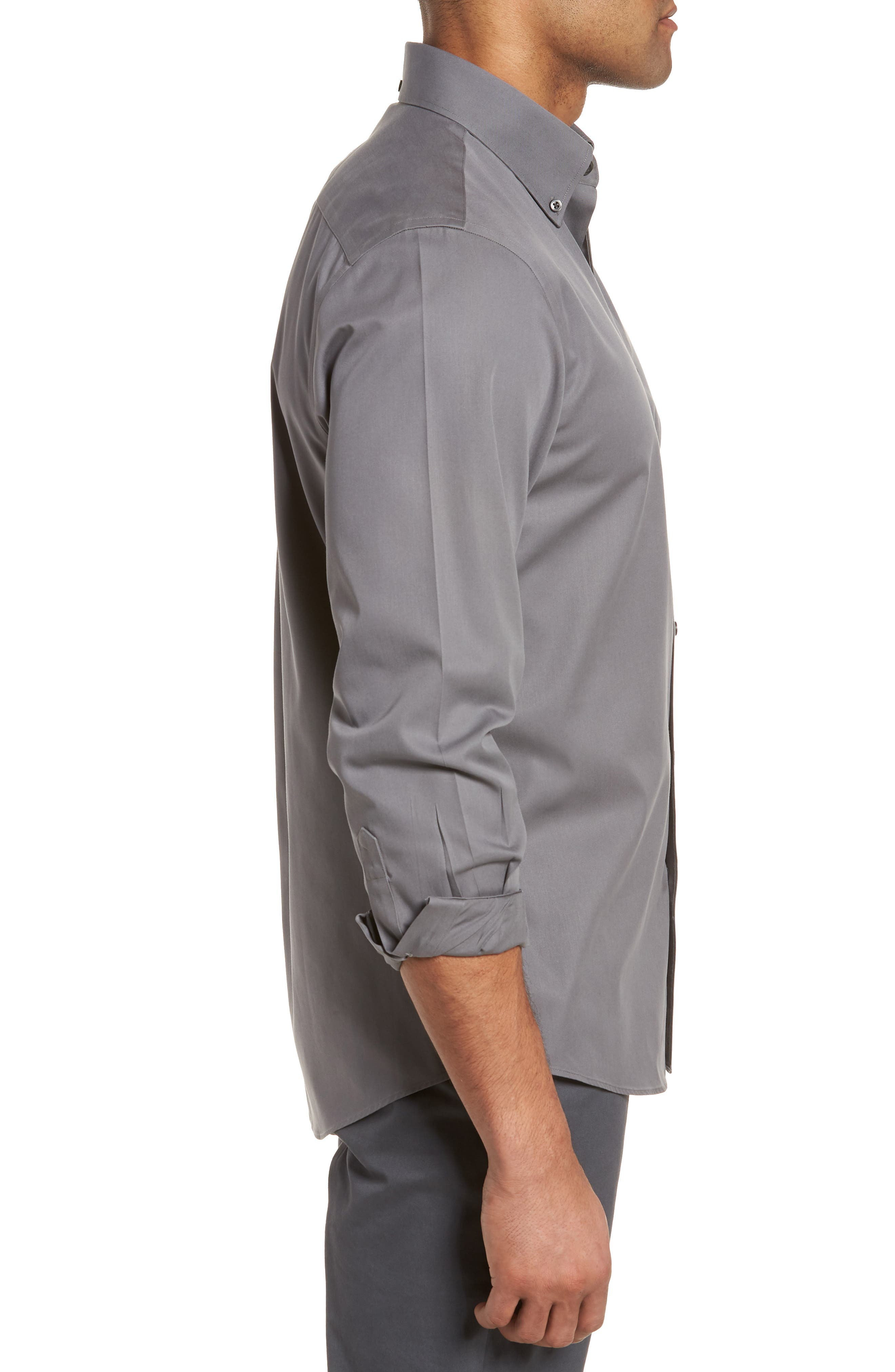 Smartcare<sup>™</sup> Traditional Fit Twill Boat Shirt,                             Alternate thumbnail 113, color,