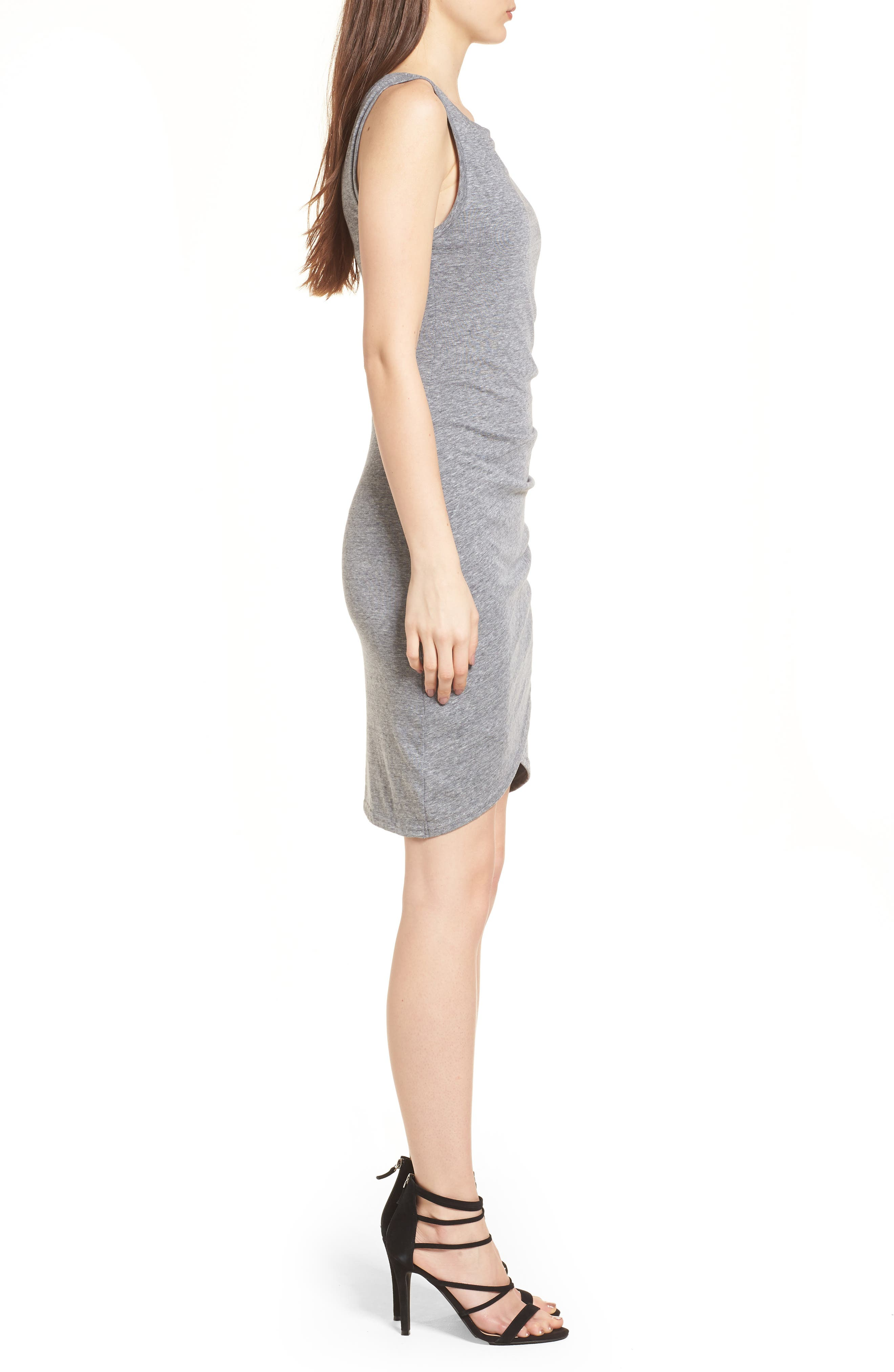 Ruched Body-Con Tank Dress,                             Alternate thumbnail 125, color,
