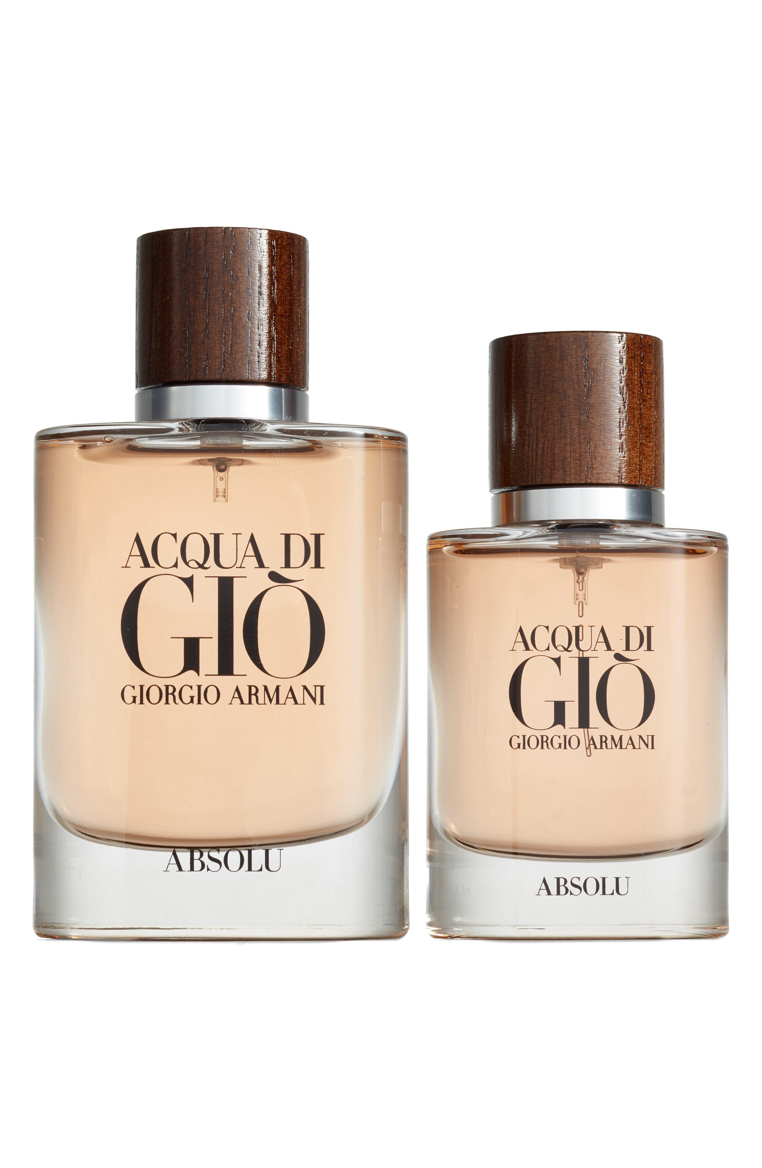 Acqua di Giò Absolu Eau de Parfum Set,                             Main thumbnail 1, color,                             NO COLOR