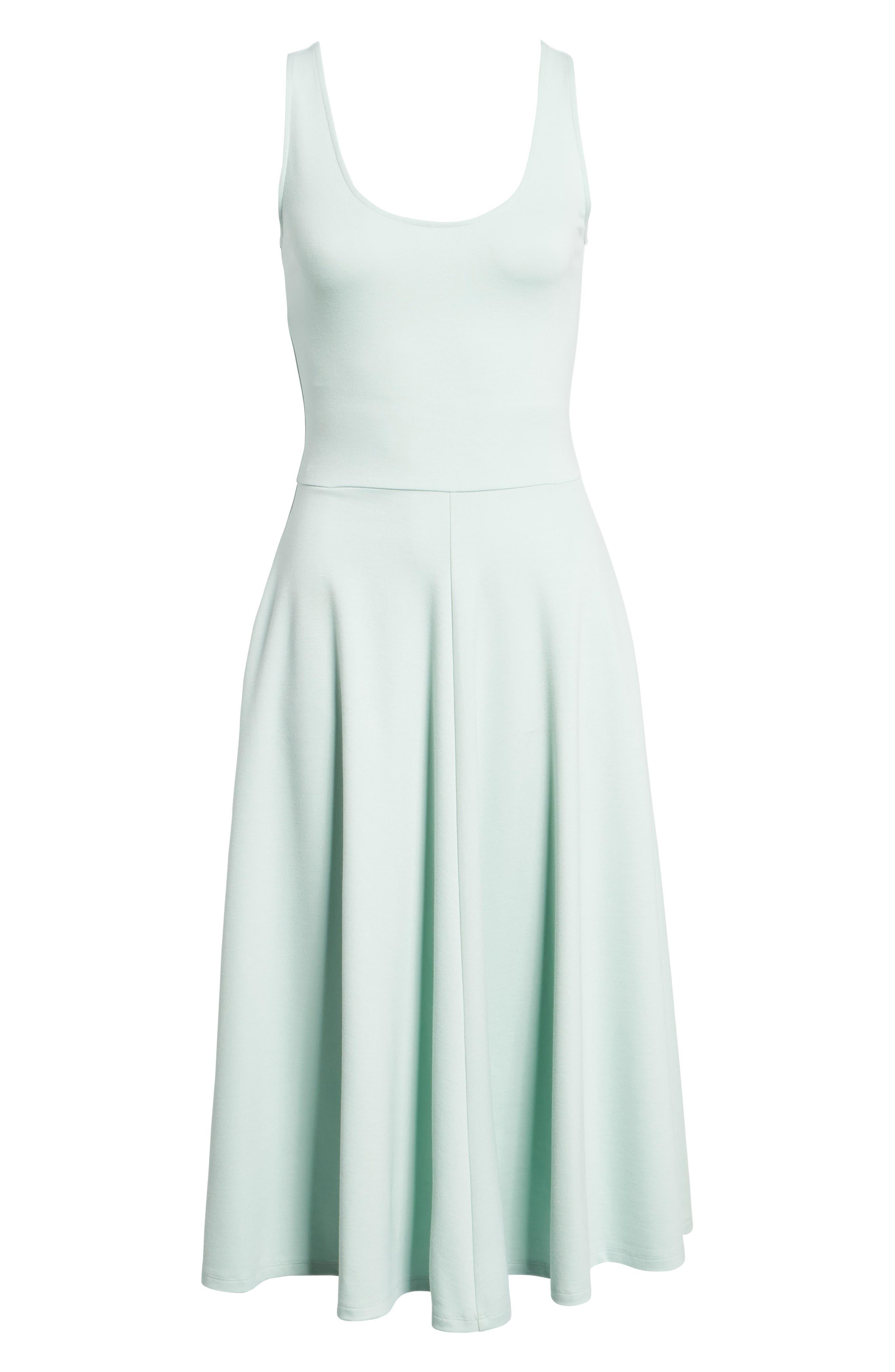 Stretch Knit Midi Dress,                             Alternate thumbnail 65, color,