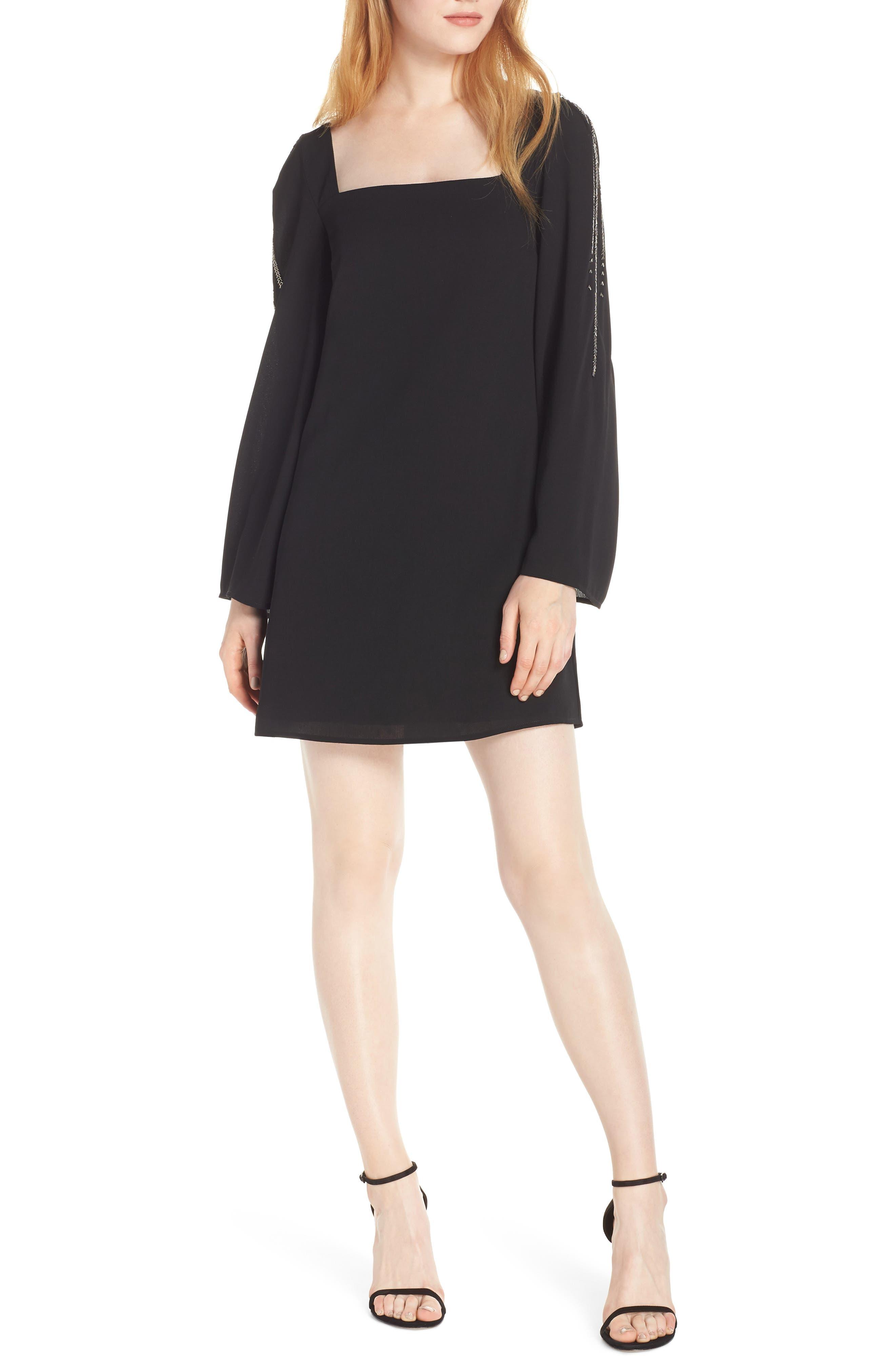 ALI & JAY On My Mind Minidress in Black