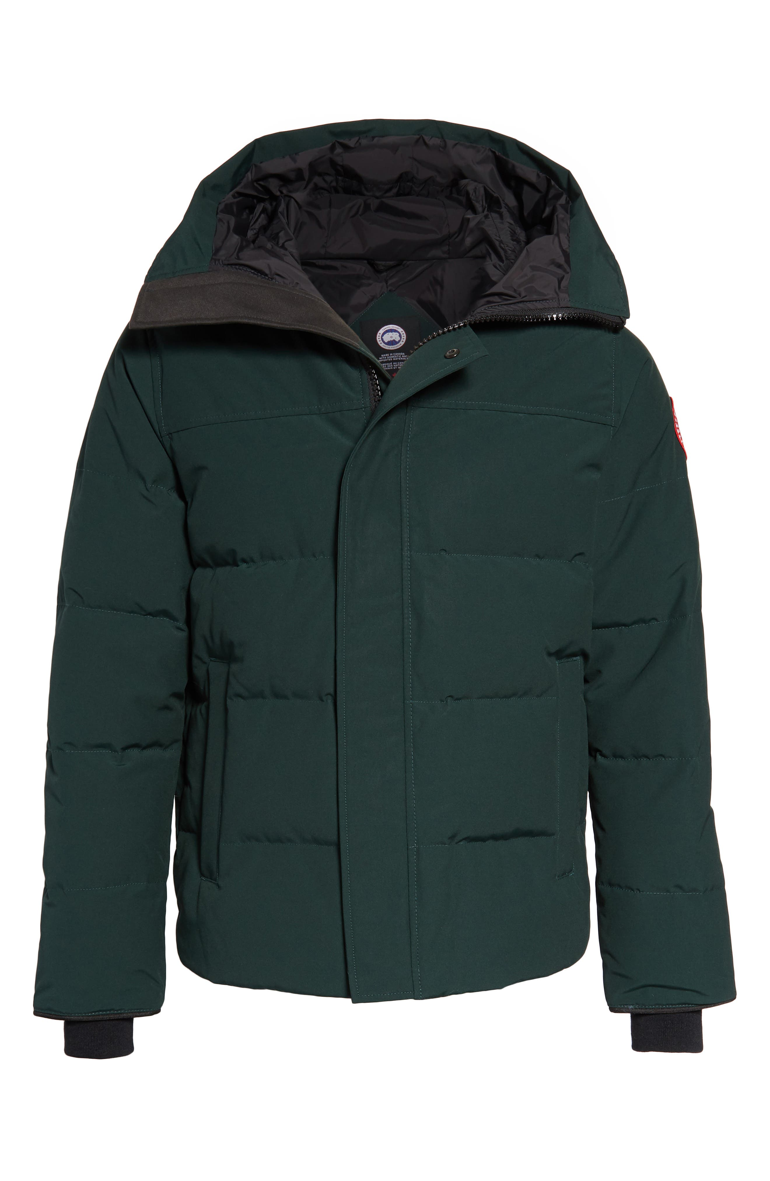 'MacMillan' Slim Fit Hooded Parka,                             Alternate thumbnail 6, color,                             SPRUCE