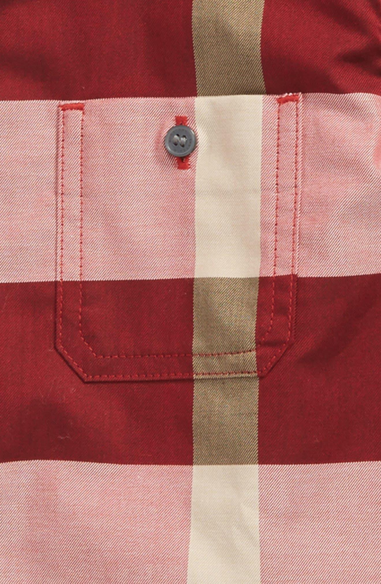 Mini Camber Check Shirt,                             Alternate thumbnail 2, color,                             640