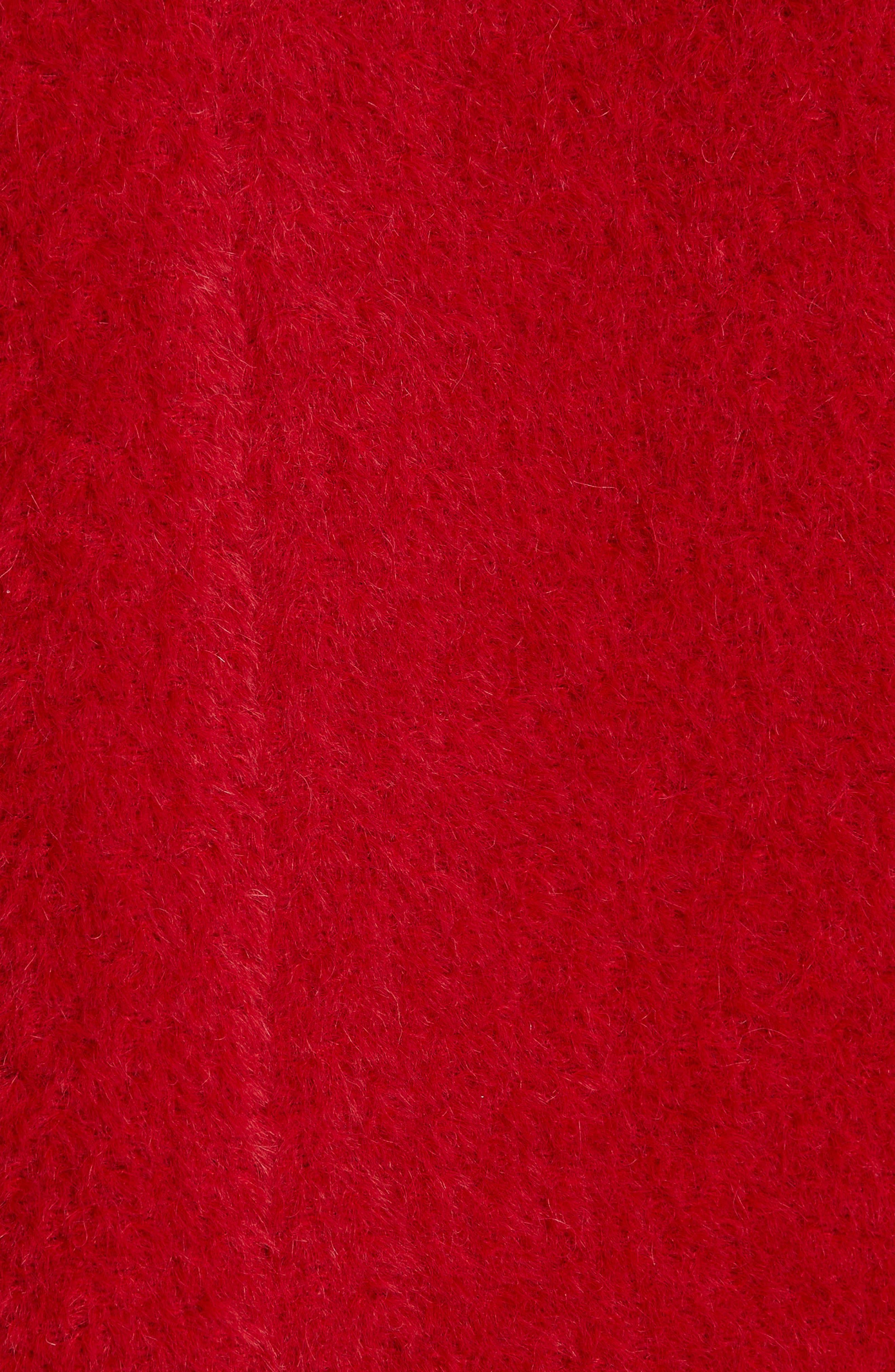 Wool & Alpaca Blend Jacket,                             Alternate thumbnail 7, color,                             LACQUER