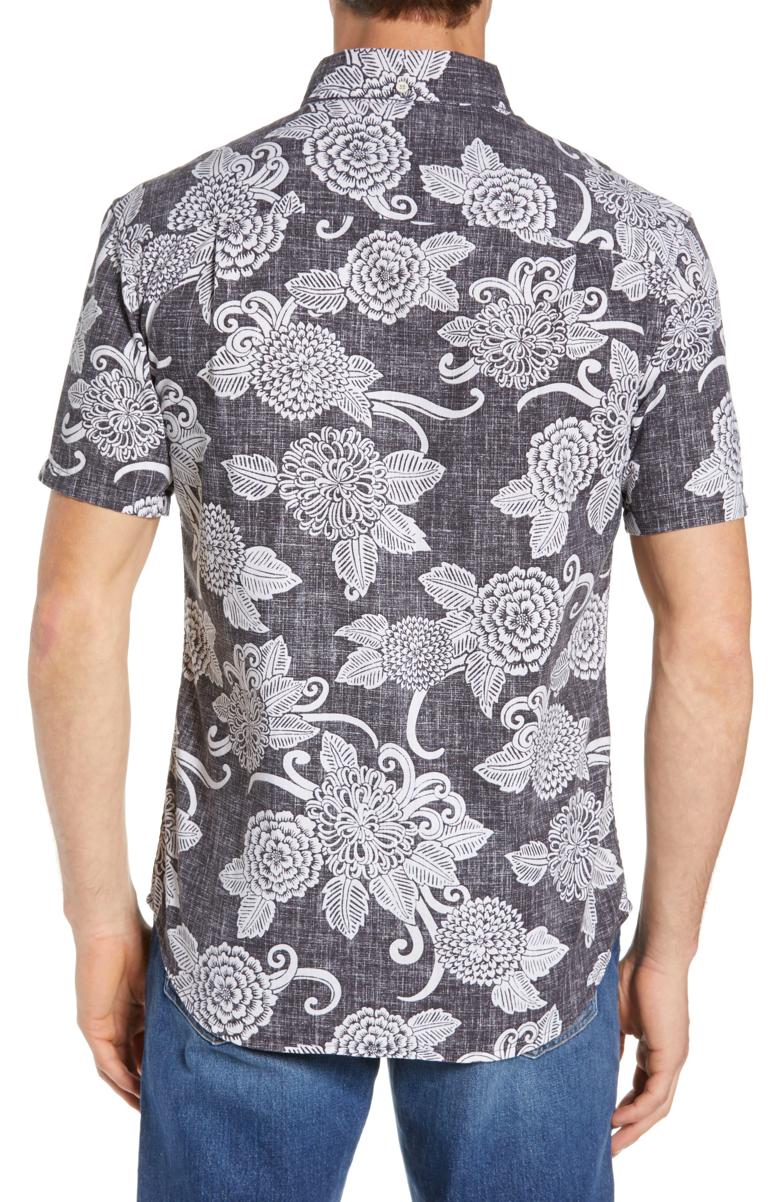 Opti Mums Regular Fit Sport Shirt,                             Alternate thumbnail 3, color,                             BLACK