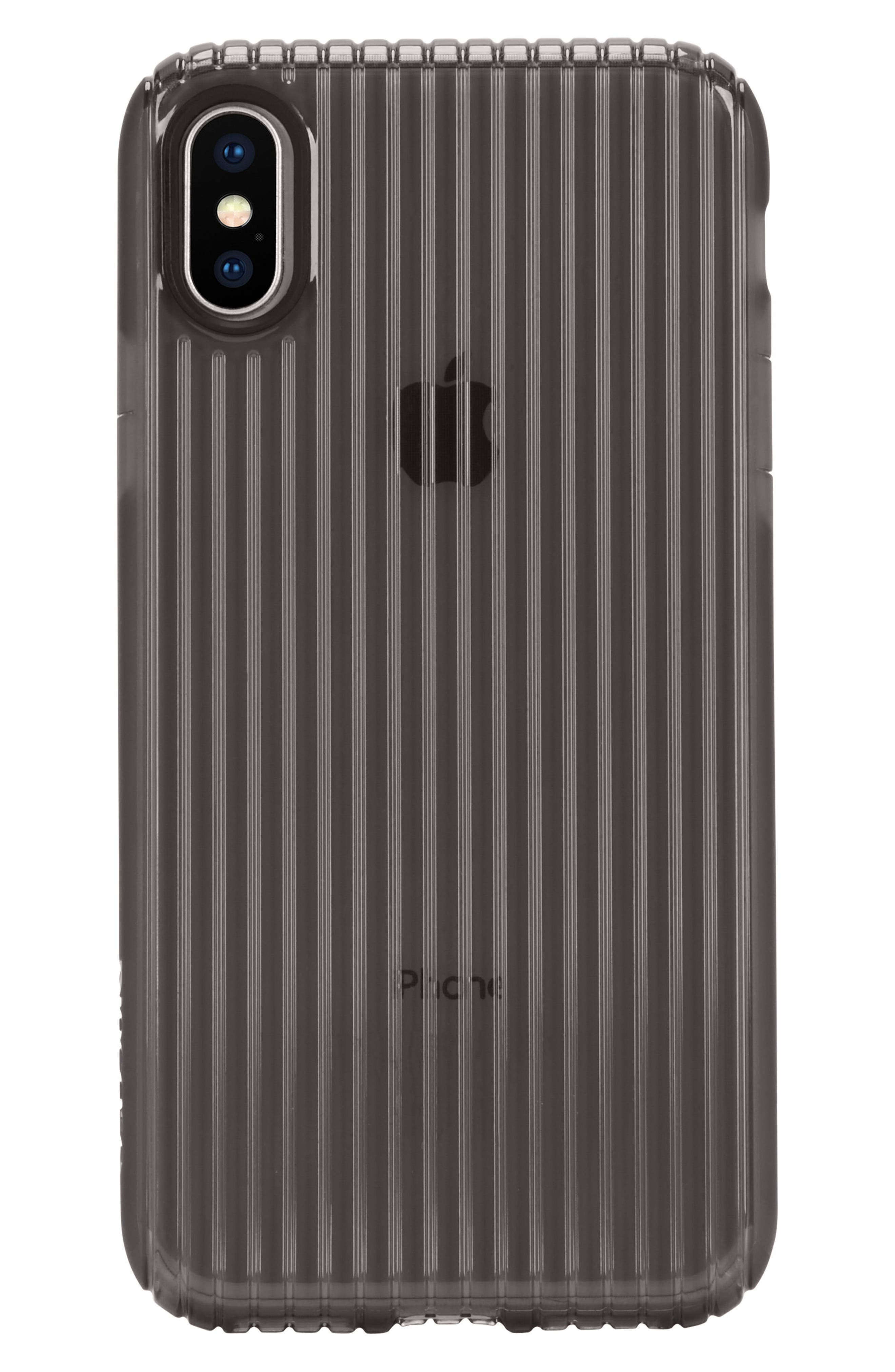 Protective iPhone X & Xs Case,                             Alternate thumbnail 4, color,                             001