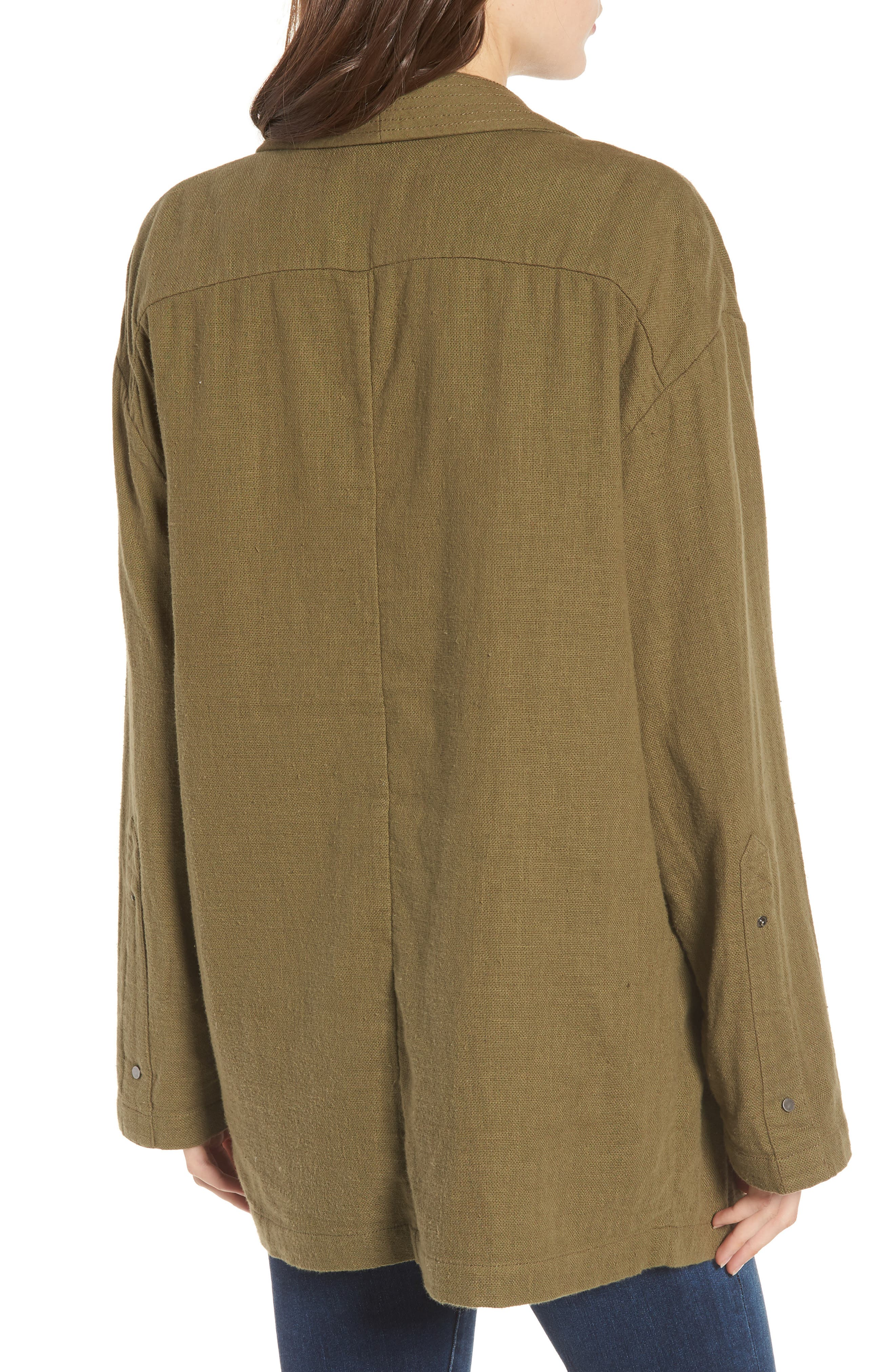 Maura Jacket,                             Alternate thumbnail 2, color,                             OLIVE GROVE