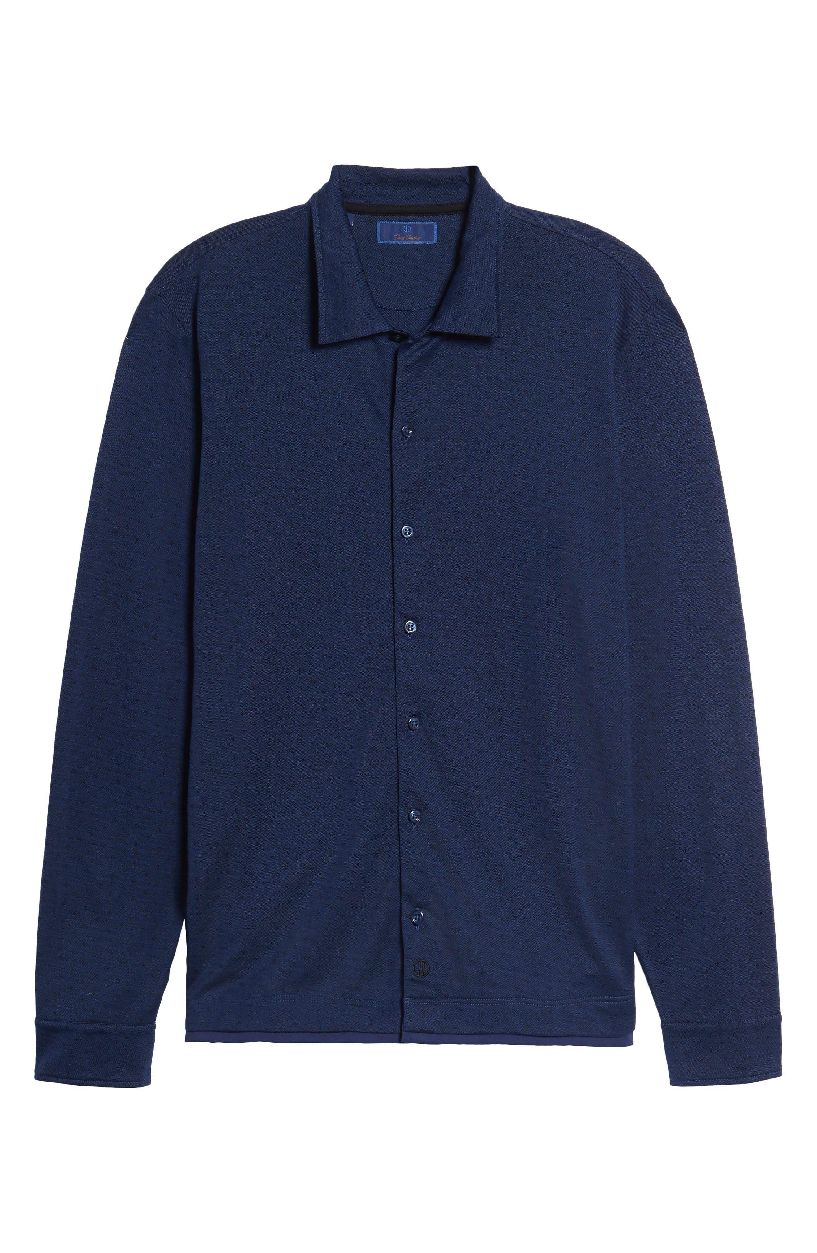 Jacquard Knit Sport Shirt,                             Alternate thumbnail 23, color,