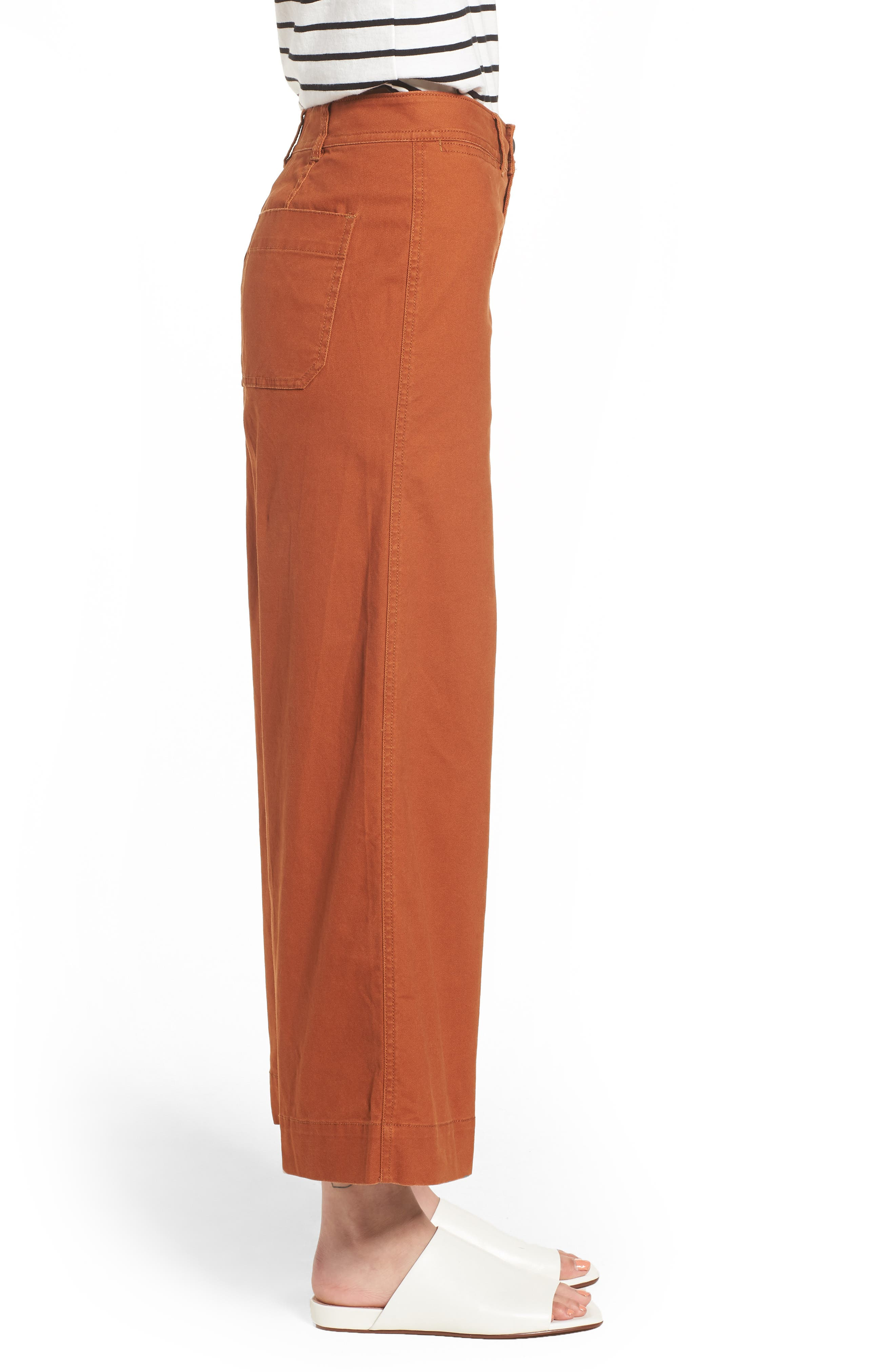 Emmett Crop Wide Leg Pants,                             Alternate thumbnail 10, color,