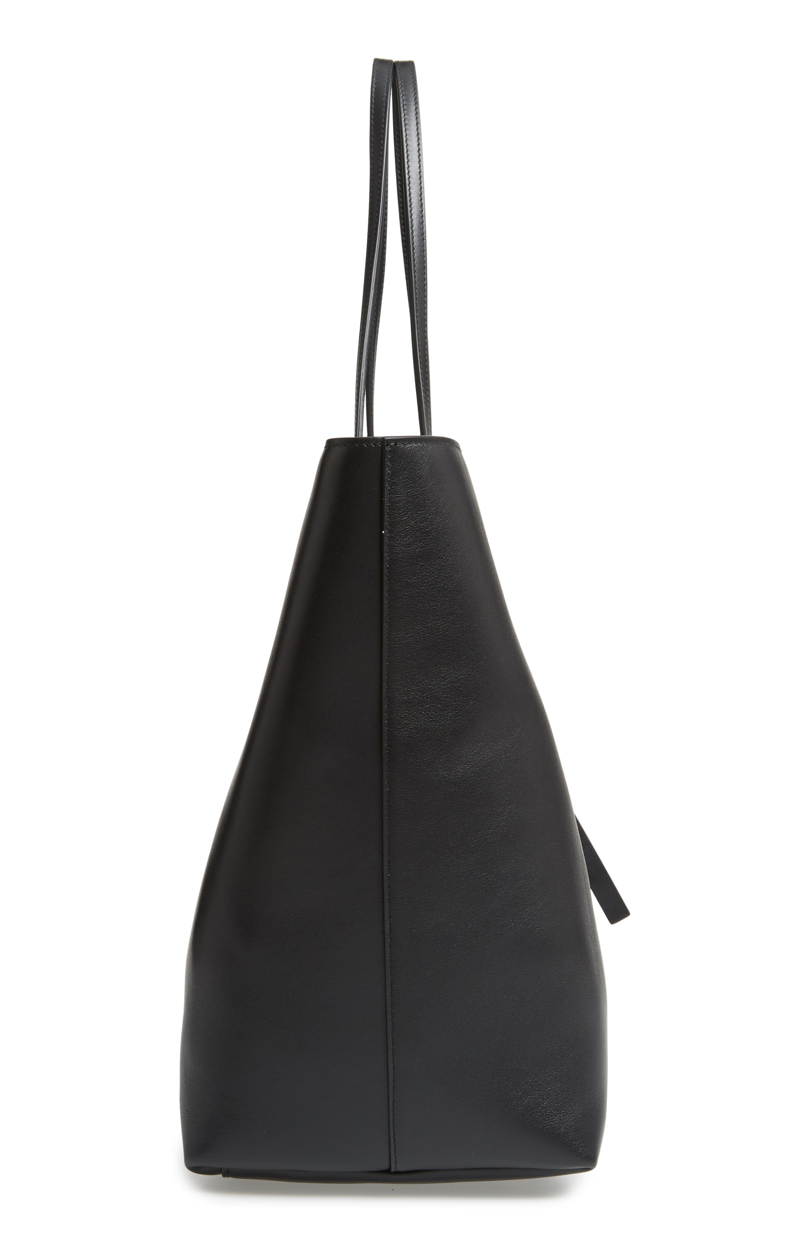 The Studio Leather Tote,                             Alternate thumbnail 5, color,