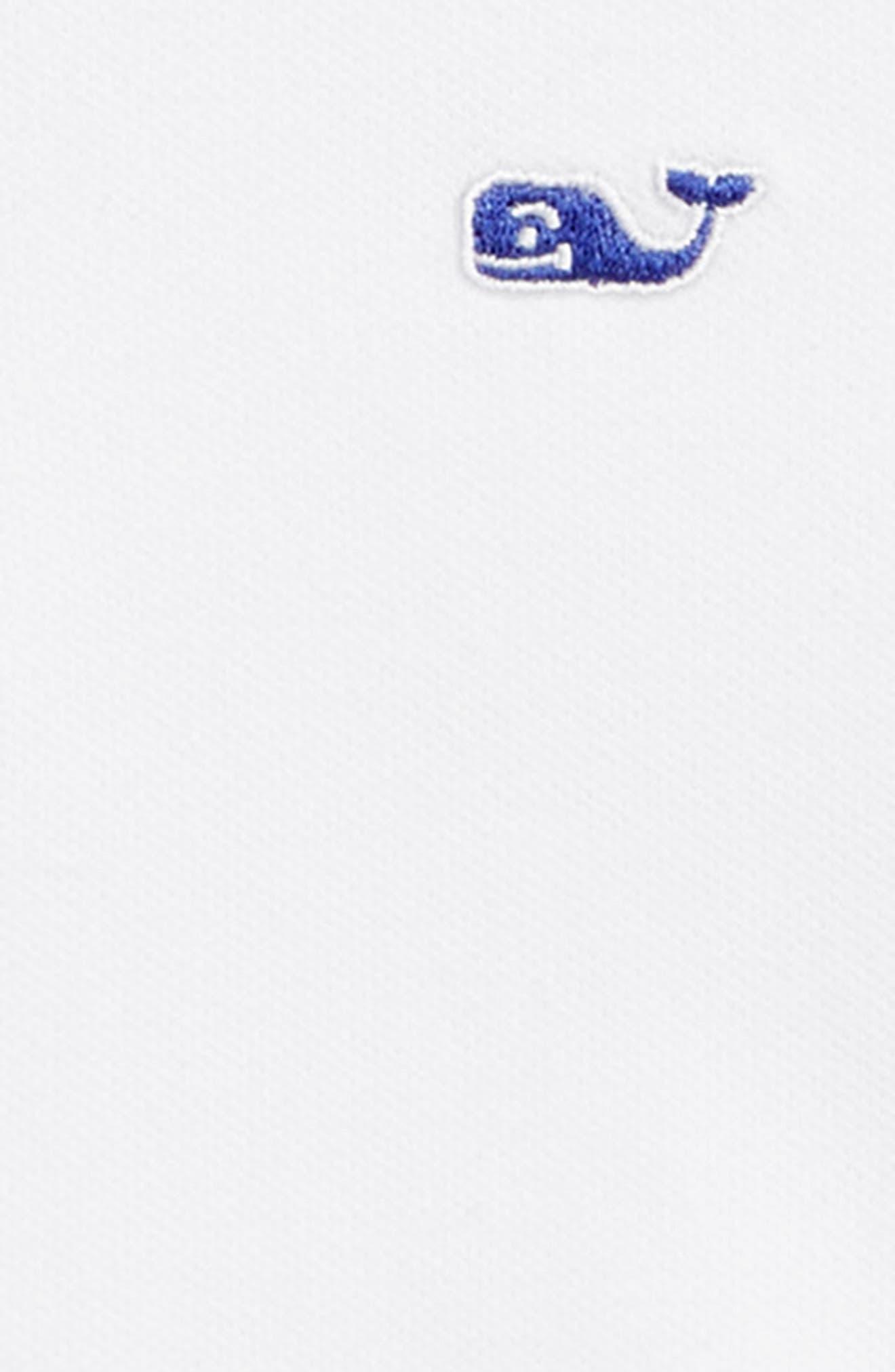 Whale Swirl Piqué Polo,                             Alternate thumbnail 2, color,                             WHITE CAP