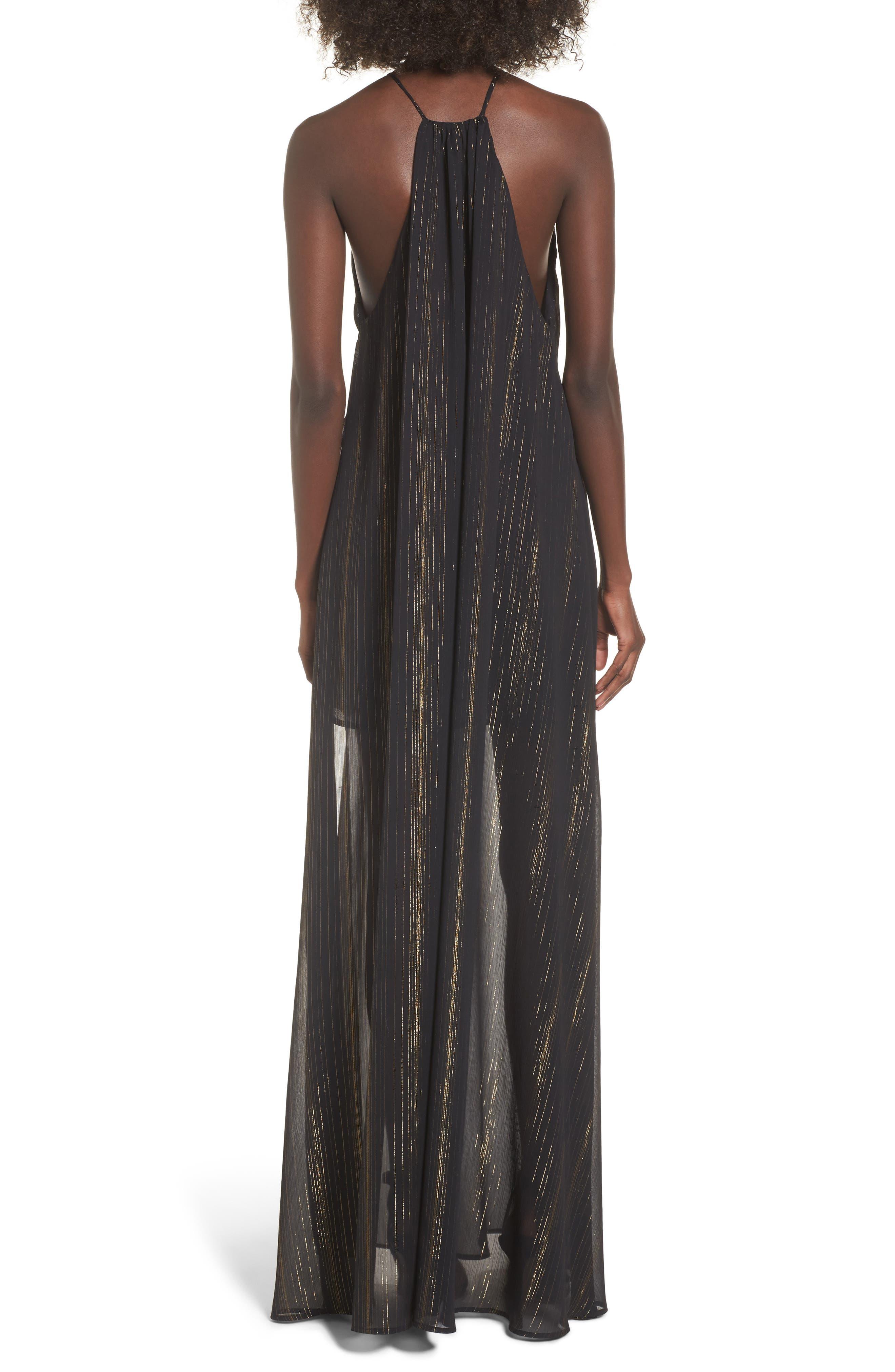 Bronte Maxi Dress,                             Alternate thumbnail 4, color,