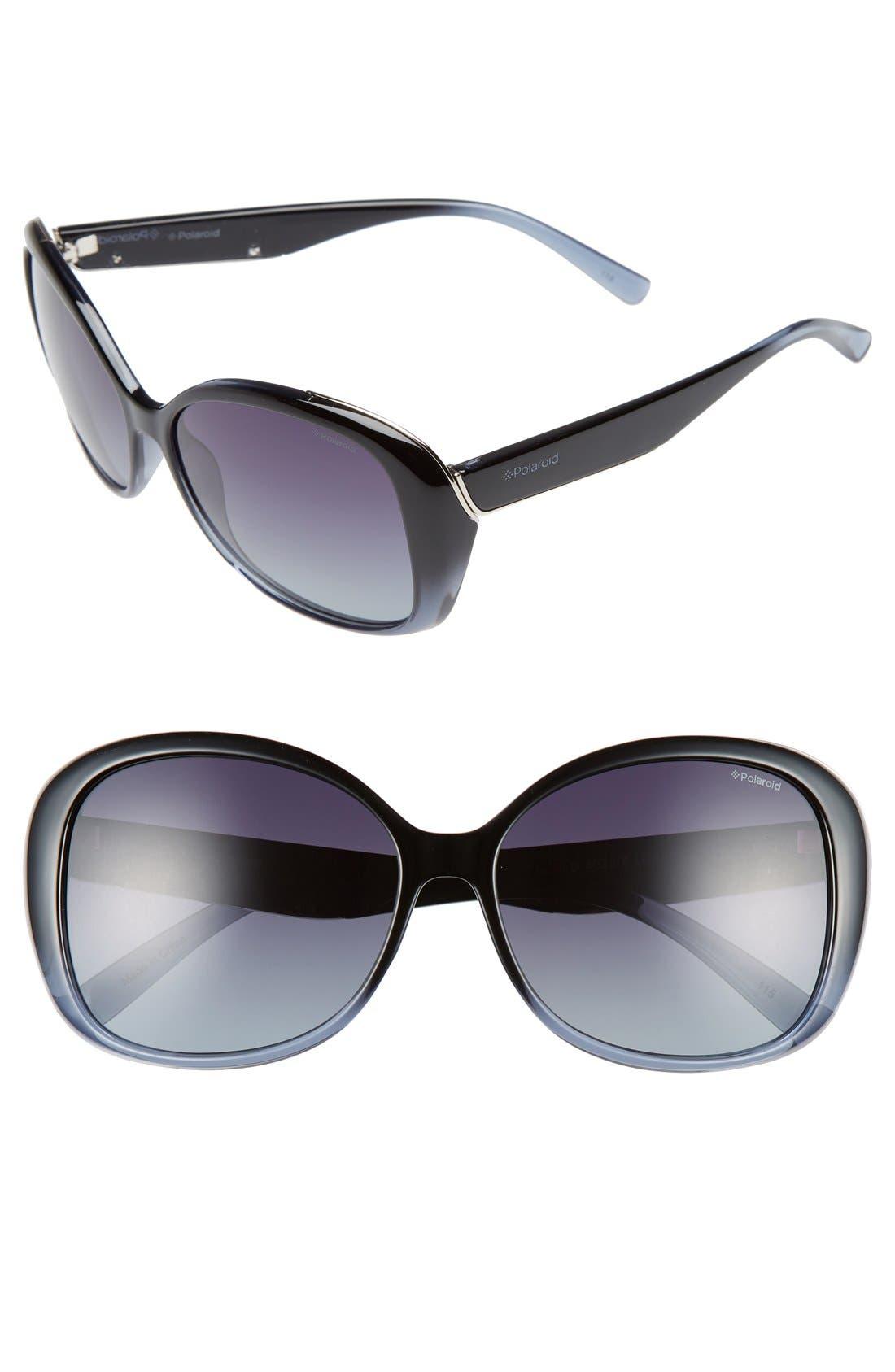 59mm Polarized Sunglasses,                         Main,                         color, 400