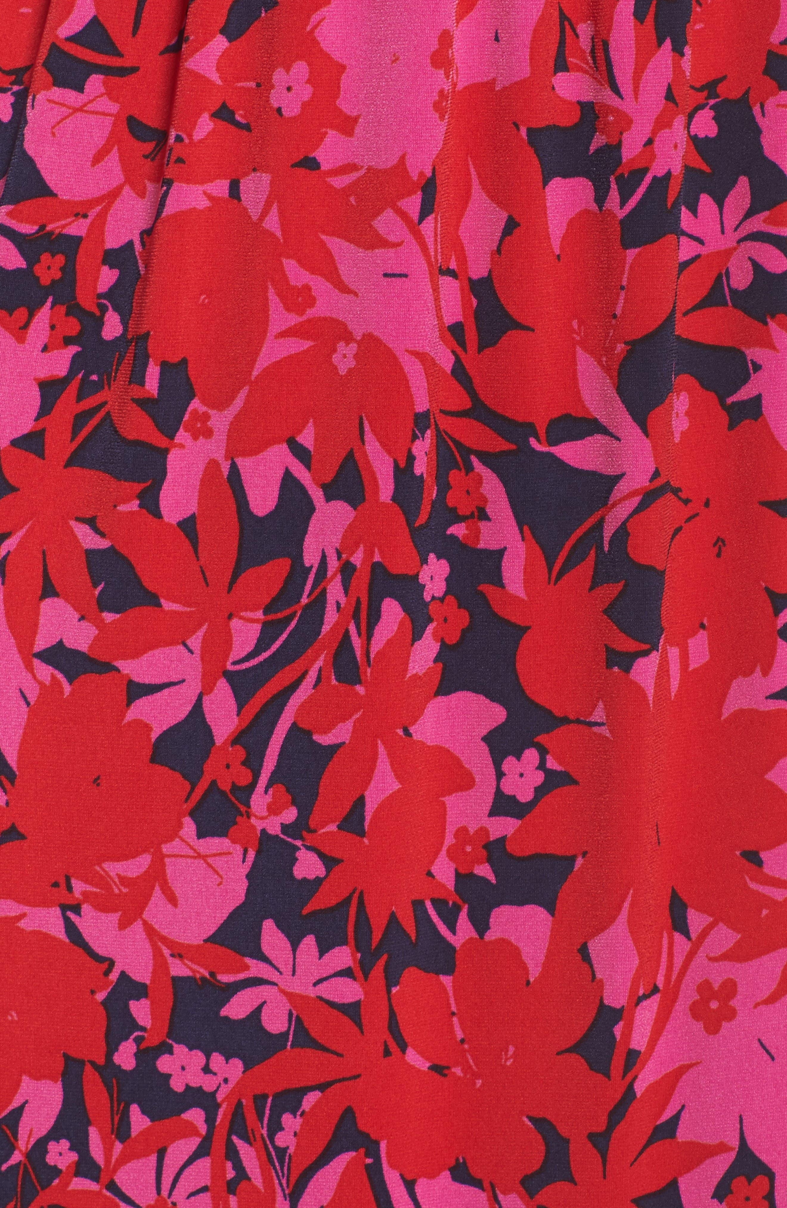 Bridget Faux Wrap Maxi Dress,                             Alternate thumbnail 5, color,                             613