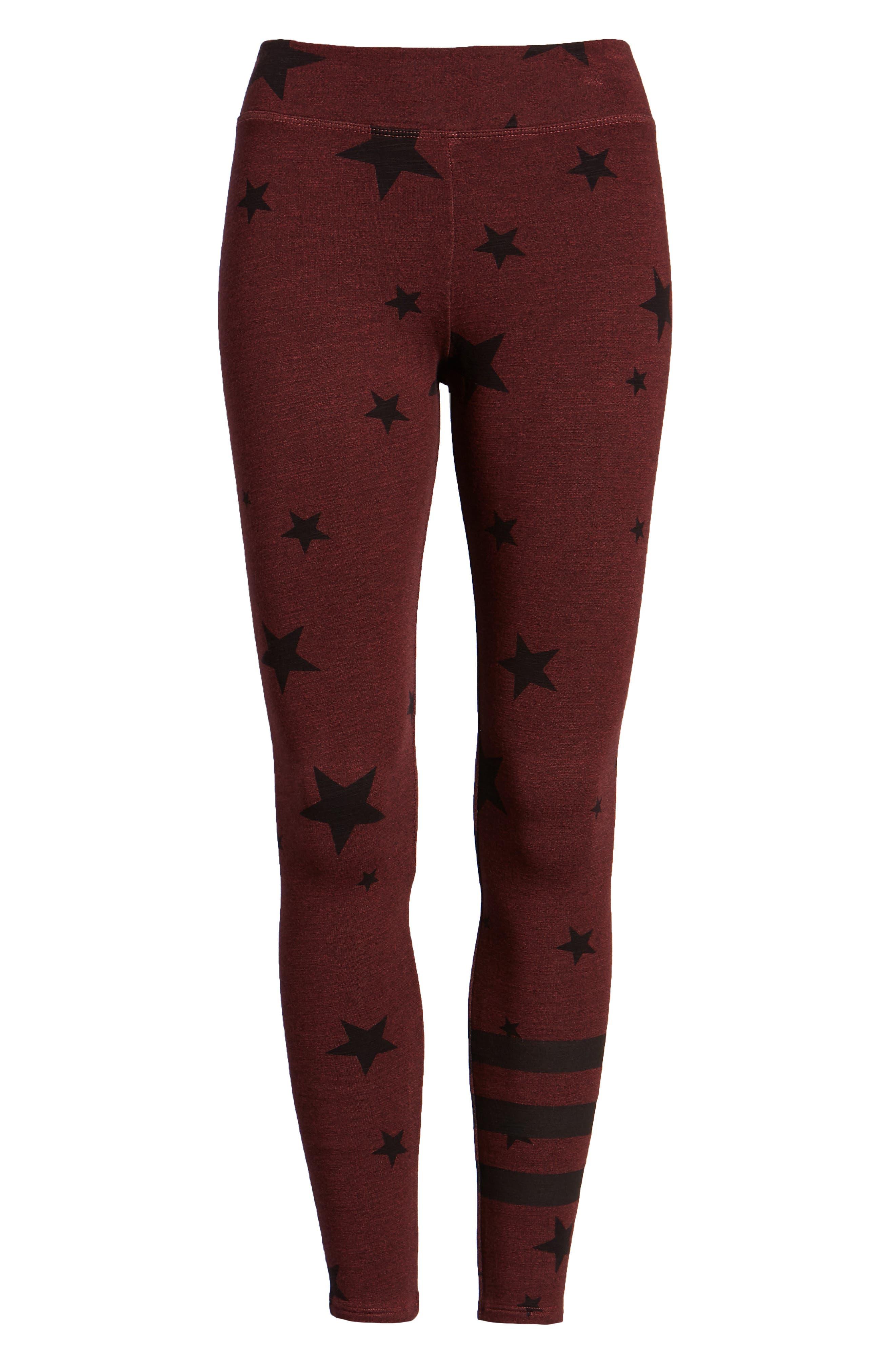 Stars Yoga Pants,                             Alternate thumbnail 6, color,                             931