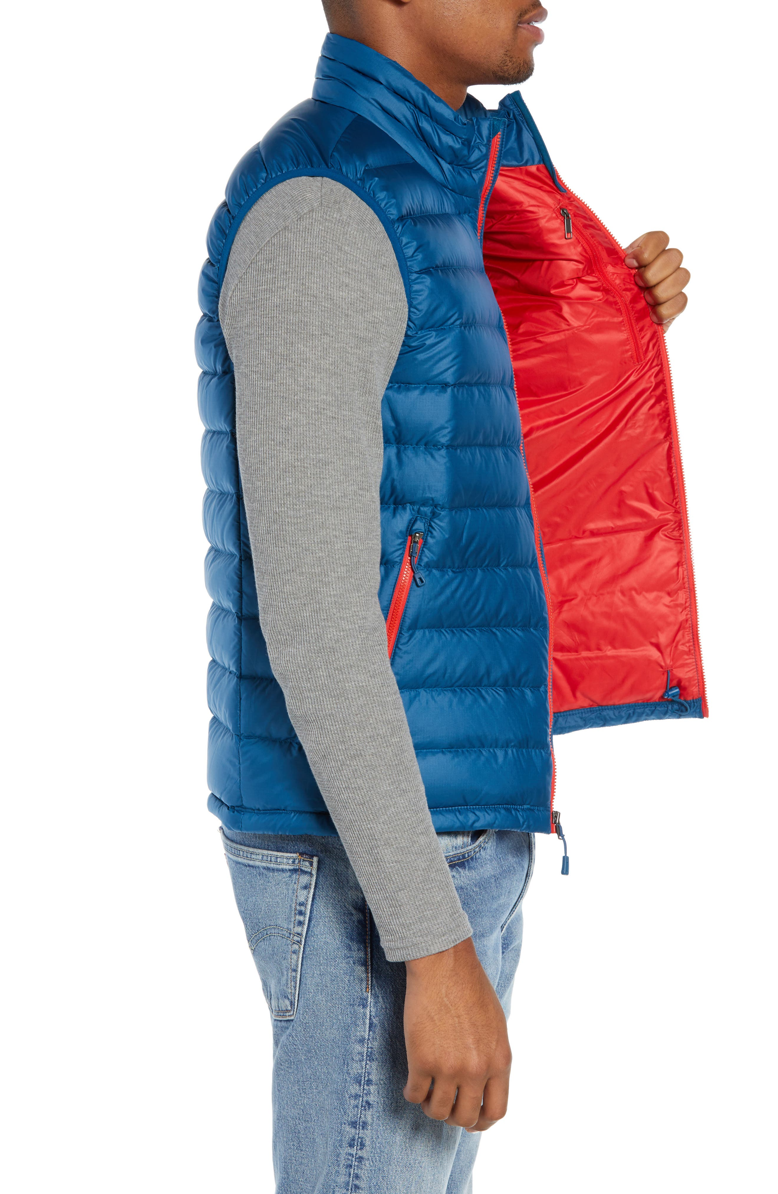 Windproof & Water Resistant 800 Fill Power Down Quilted Vest,                             Alternate thumbnail 21, color,