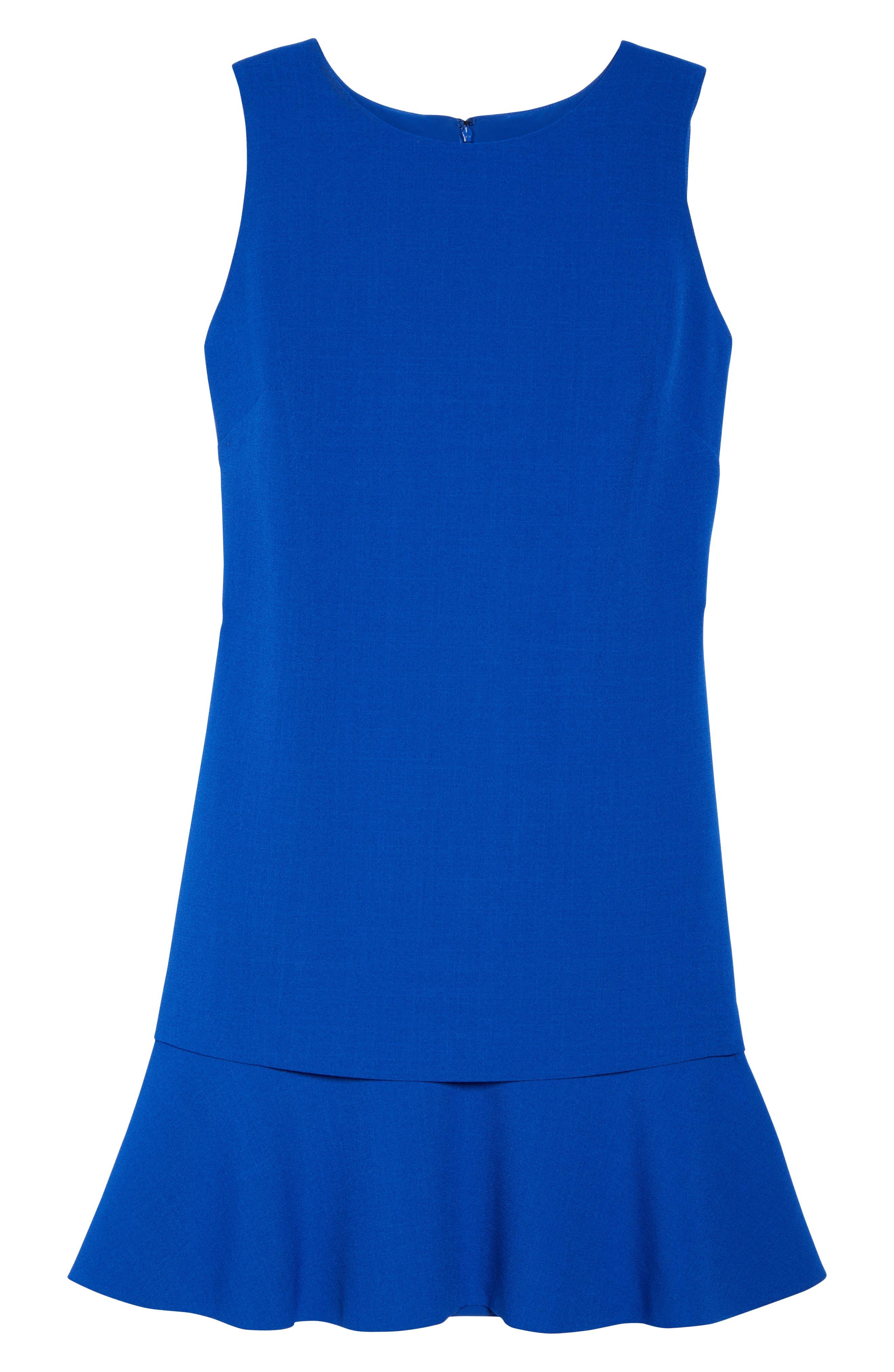 Tiered Drop Waist A-Line Dress,                             Alternate thumbnail 6, color,                             432