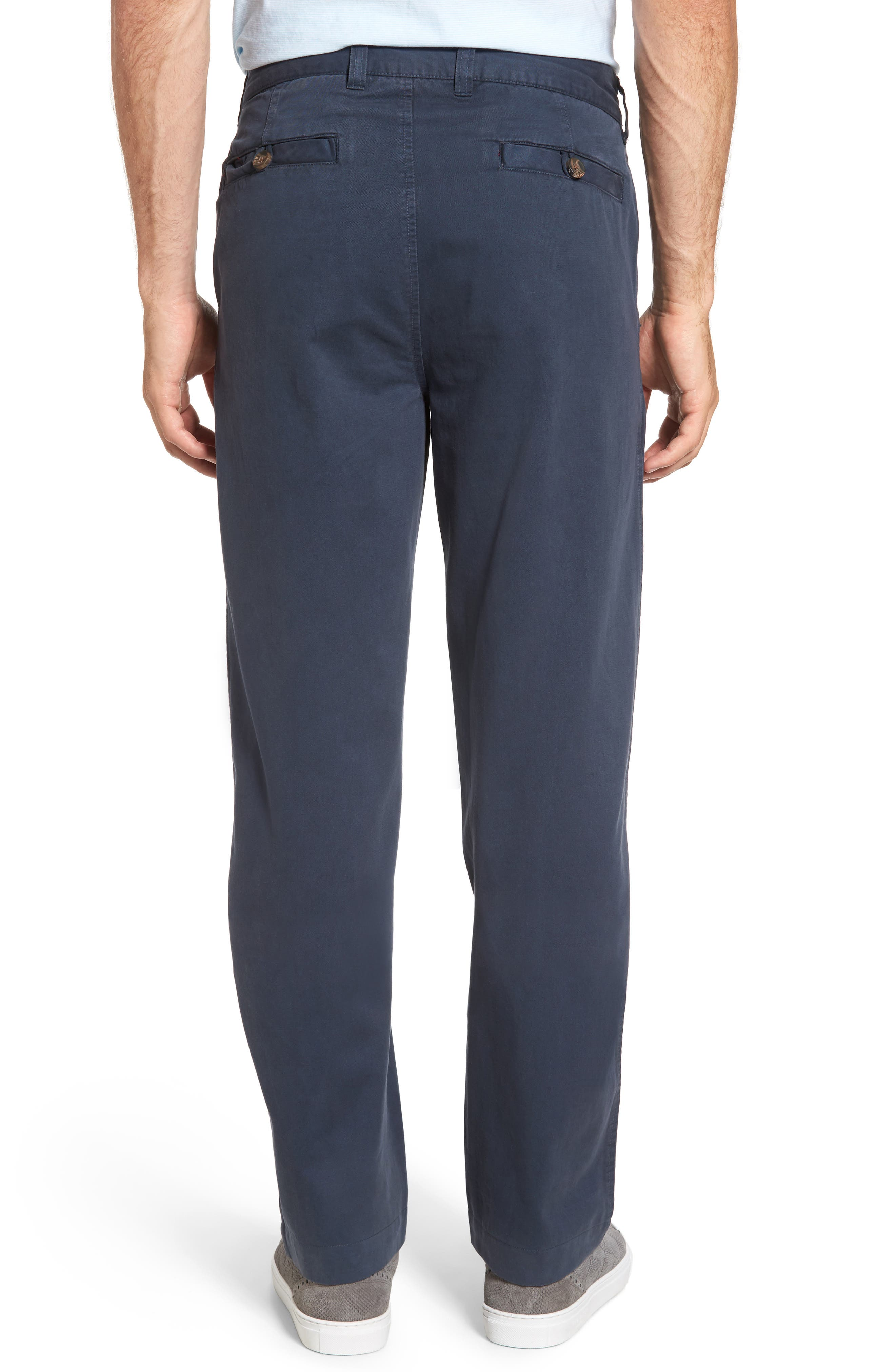 Classic Fit Military Chinos,                             Alternate thumbnail 2, color,                             NAVY