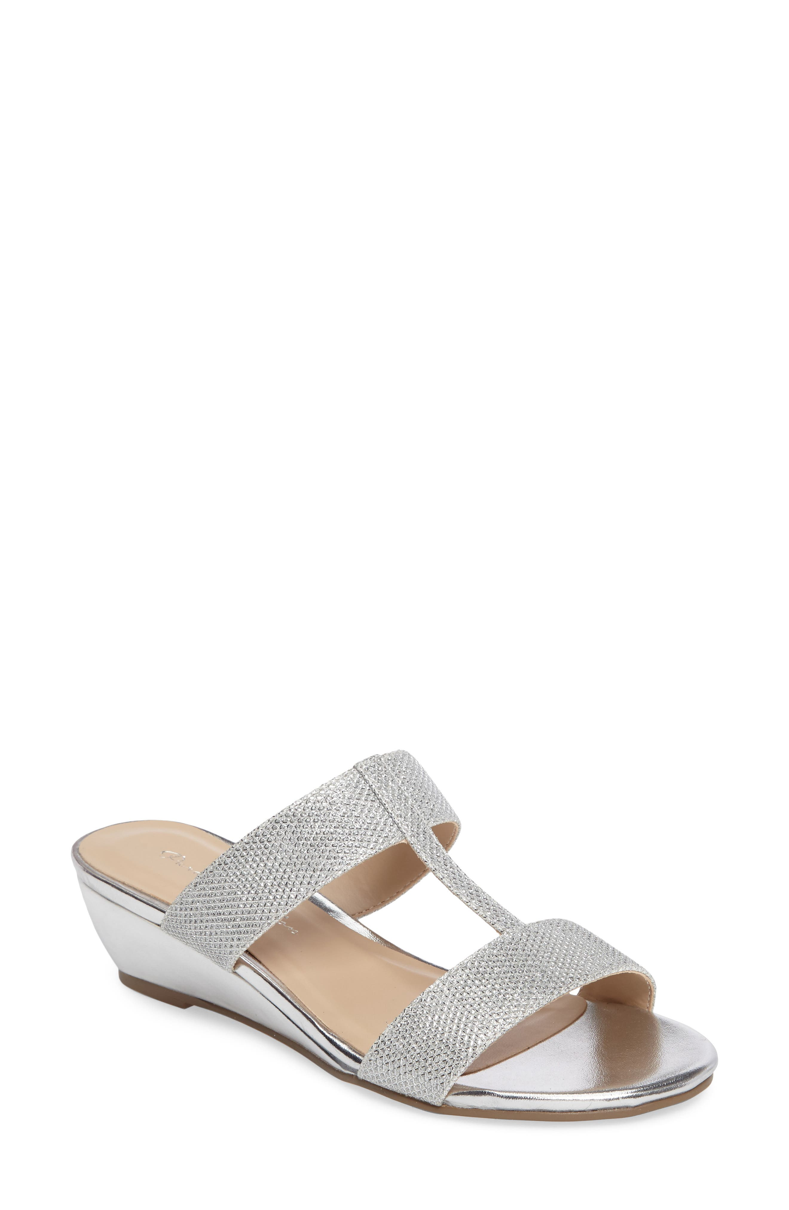 Melina Wedge Slide Sandal,                             Main thumbnail 1, color,