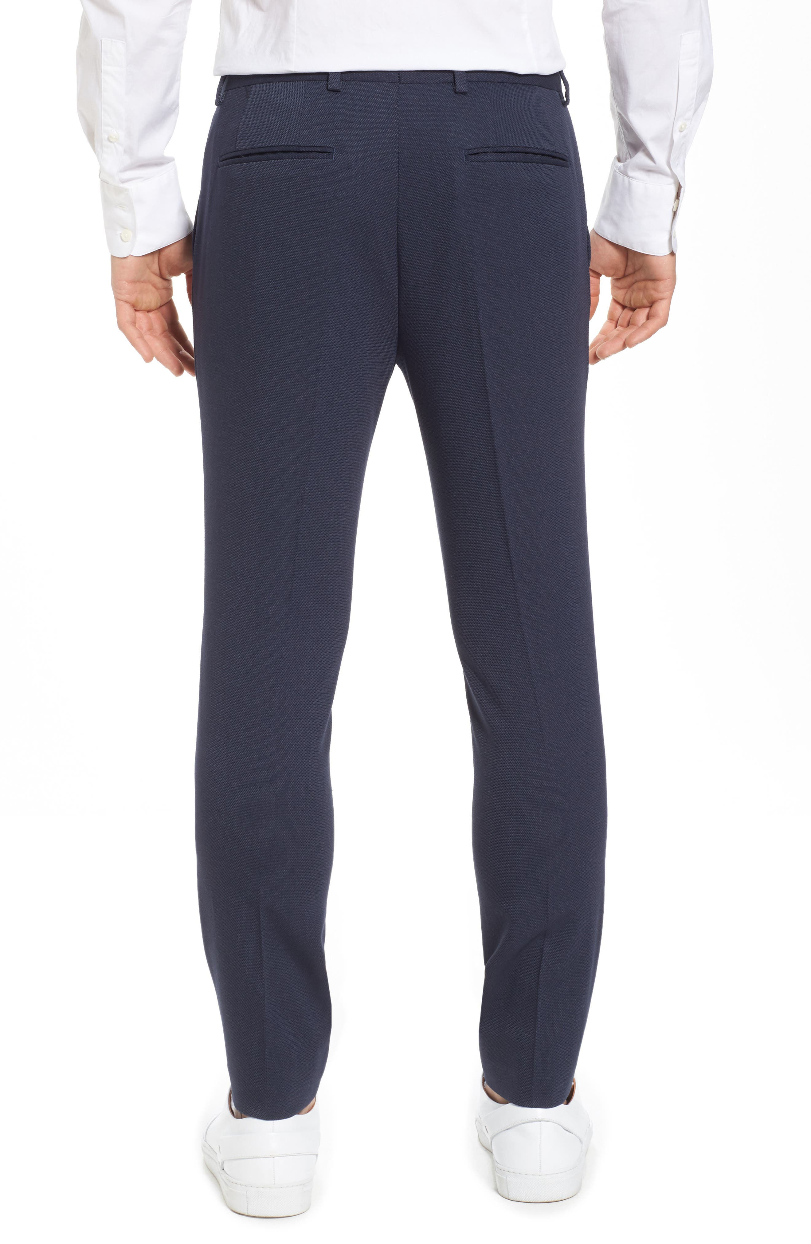 Skinny Fit Como Trousers,                             Alternate thumbnail 2, color,                             420